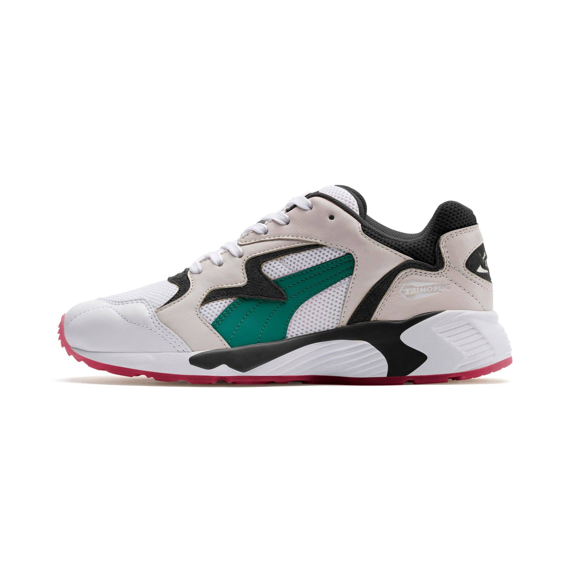 Thumbnail 1 of Prevail Classic Trainers, Puma White-Teal Green, medium