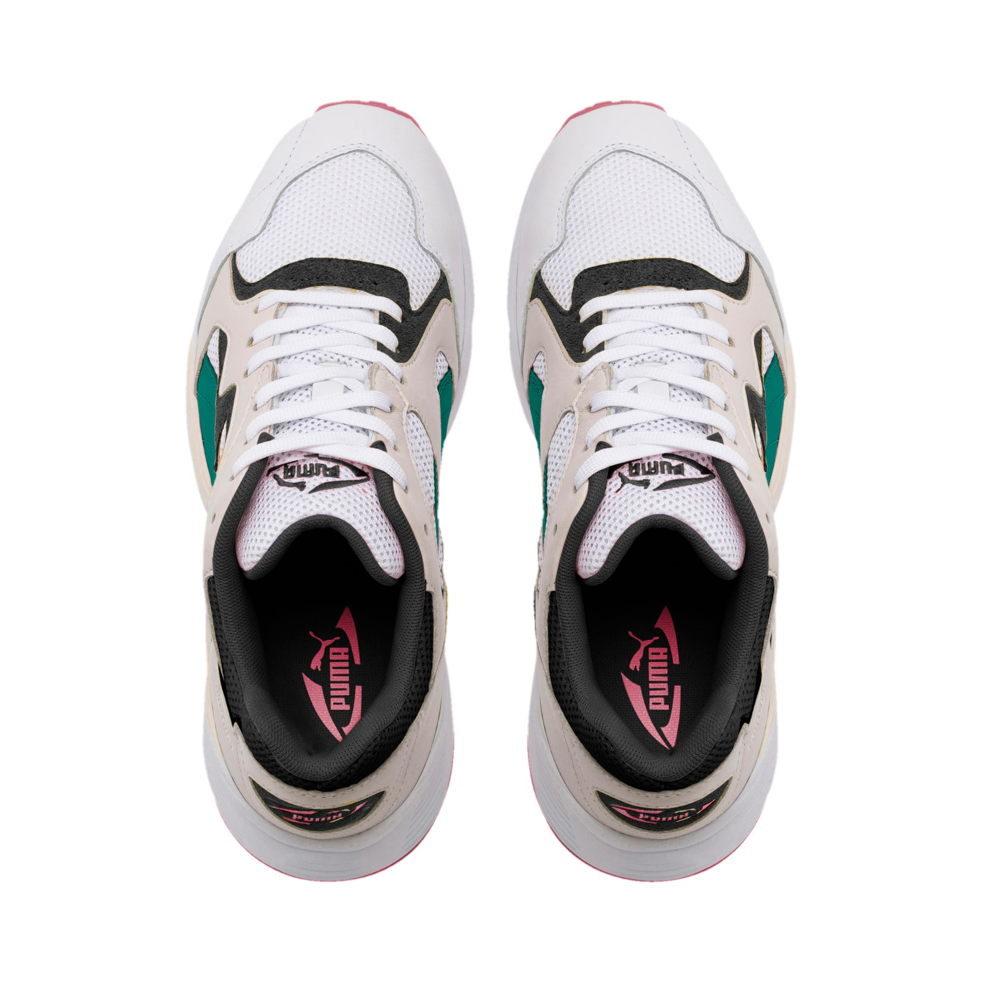 Thumbnail 6 of Prevail Classic Trainers, Puma White-Teal Green, medium