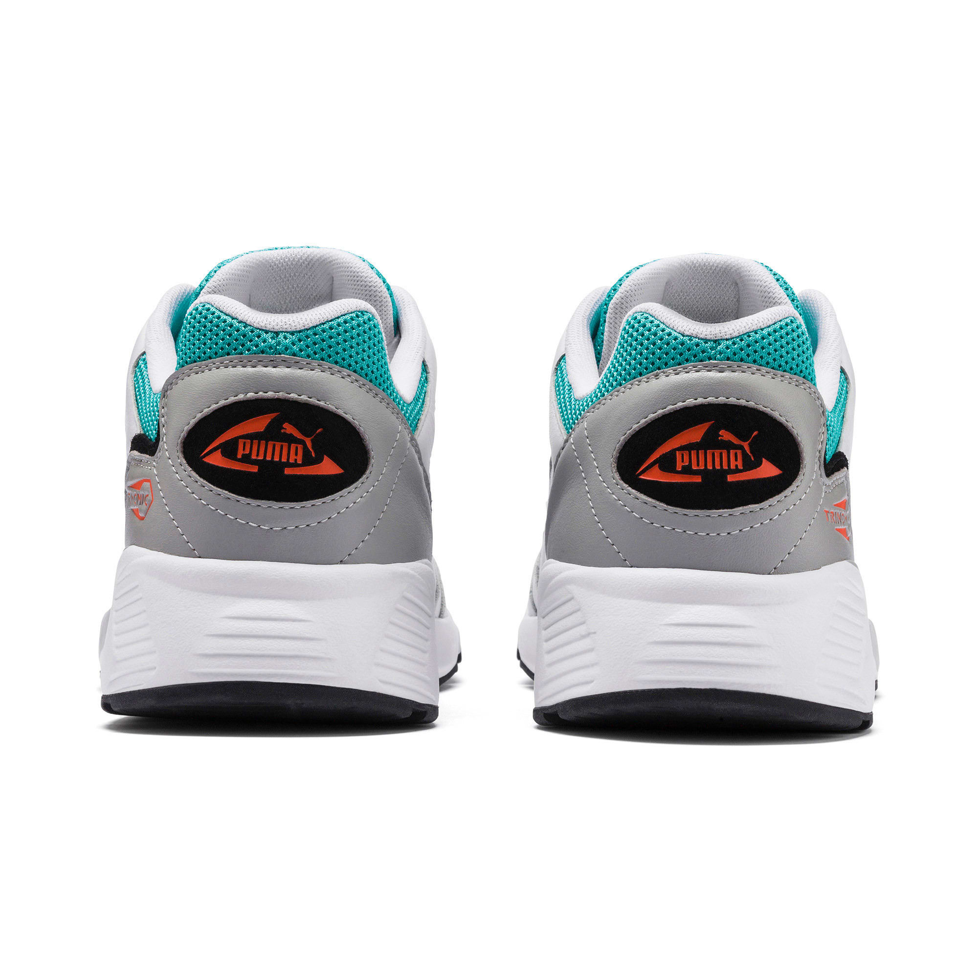 Thumbnail 3 of Prevail Classic Trainers, Puma White-Blue Turquoise, medium