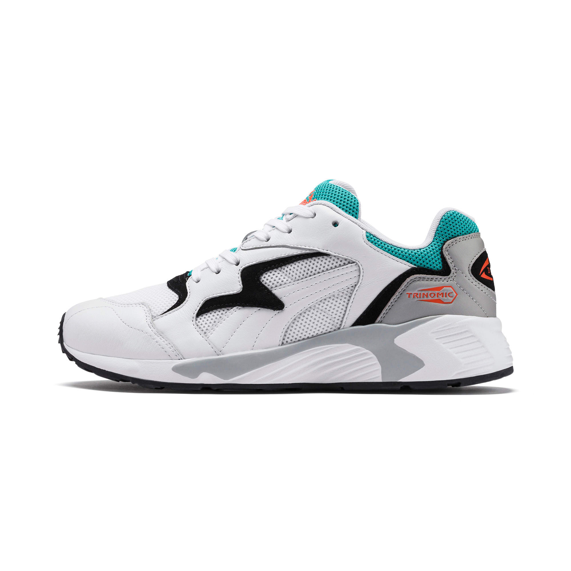 Thumbnail 1 of Prevail Classic Trainers, Puma White-Blue Turquoise, medium