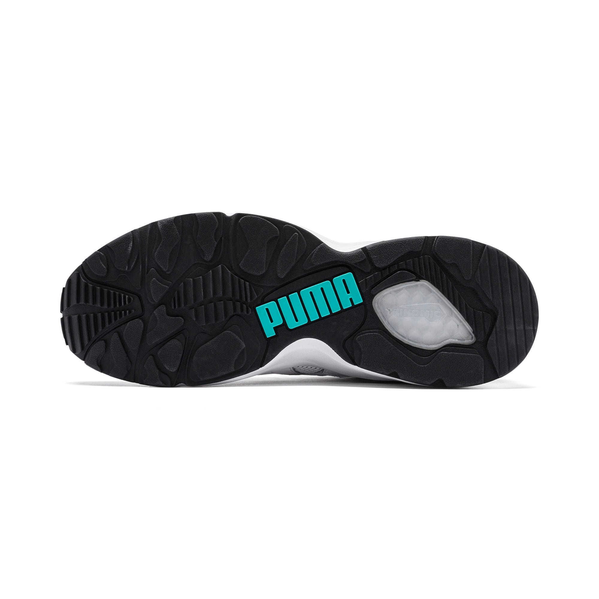 Thumbnail 4 of Prevail Classic Trainers, Puma White-Blue Turquoise, medium
