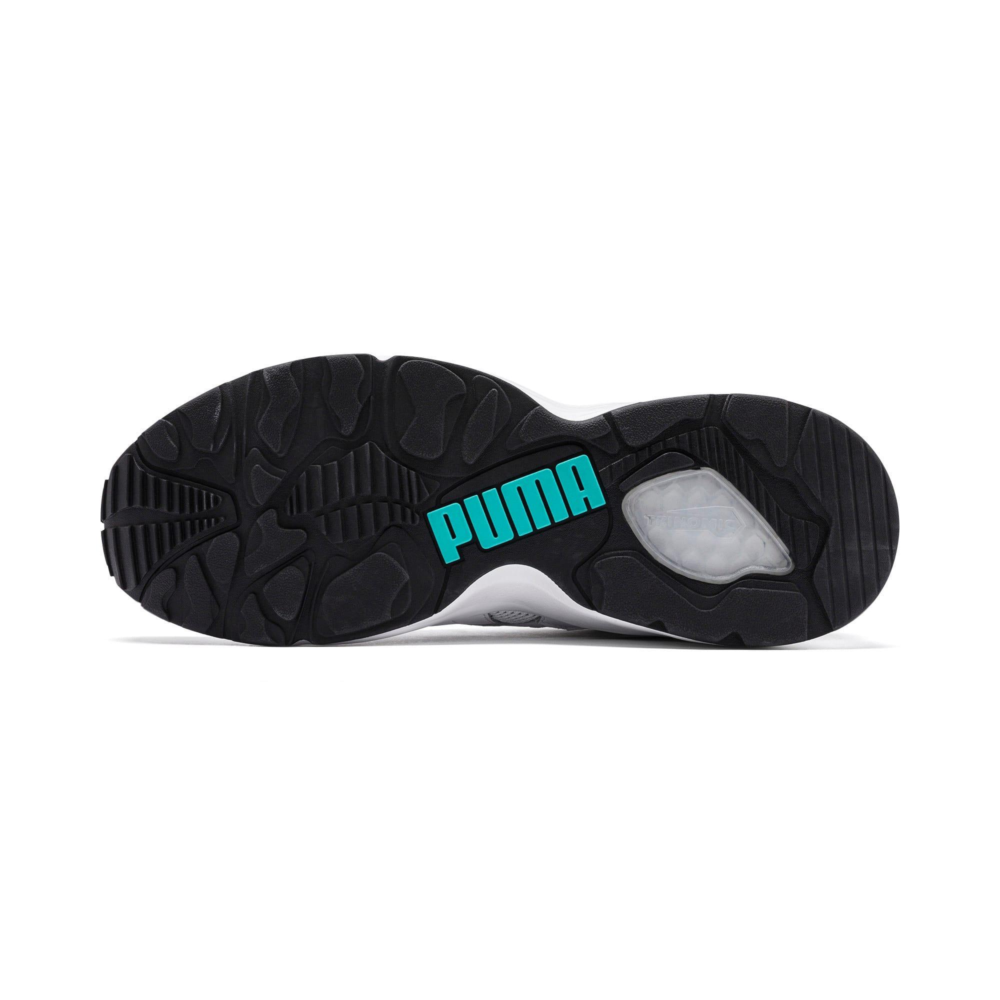 Thumbnail 4 of Prevail Classic Sneakers, Puma White-Blue Turquoise, medium