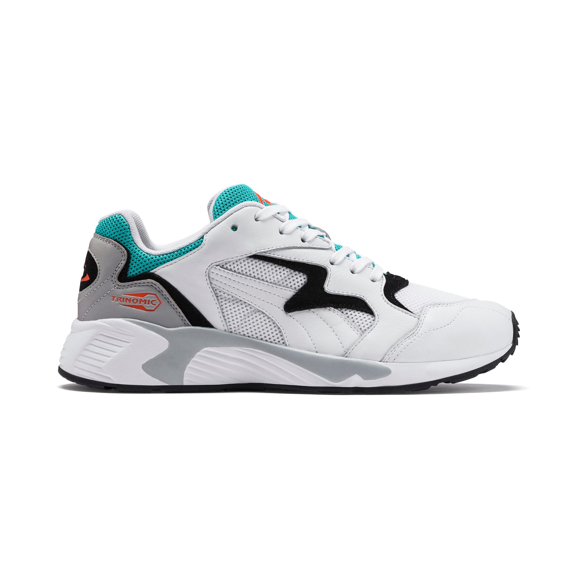 Thumbnail 5 of Prevail Classic Trainers, Puma White-Blue Turquoise, medium