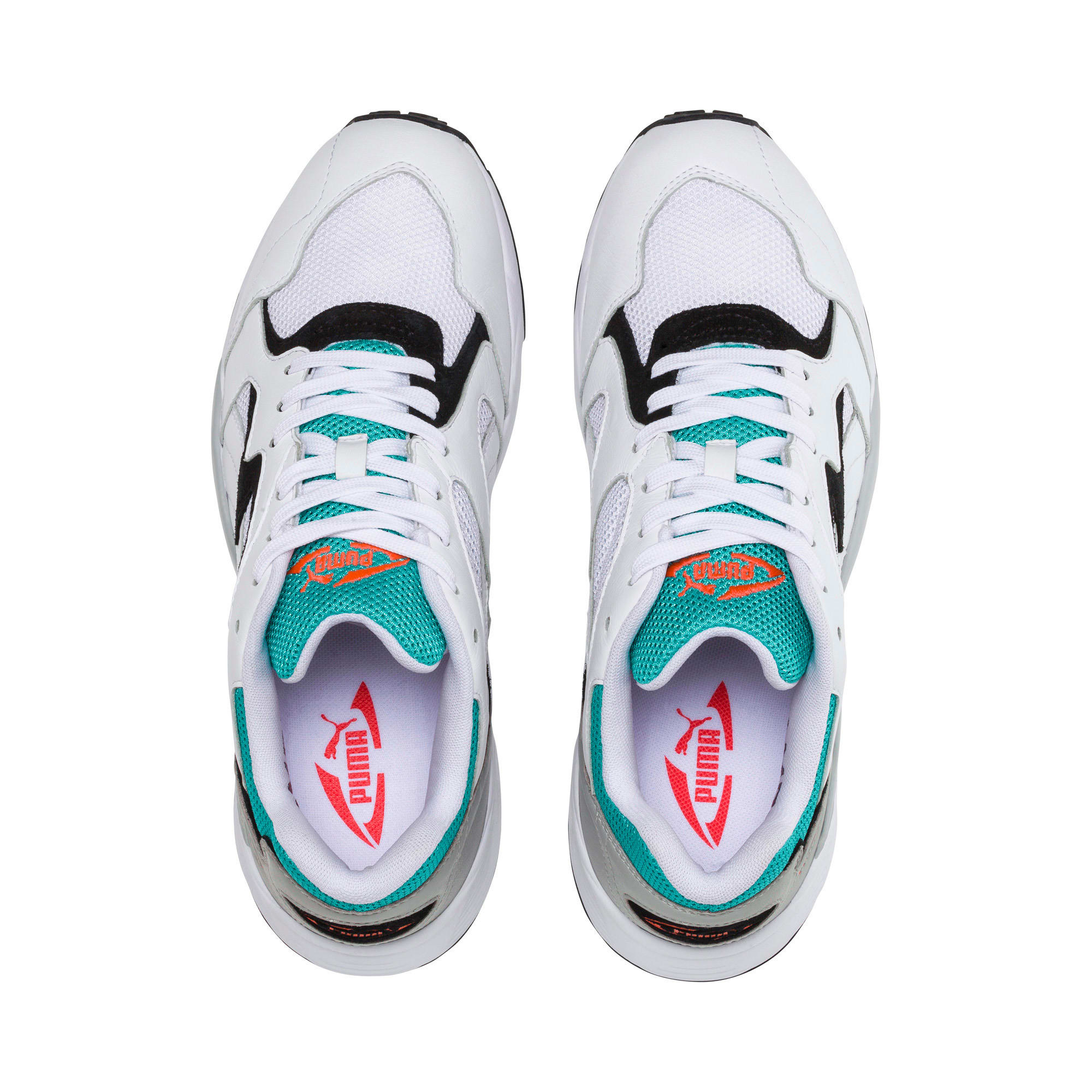 Thumbnail 6 of Prevail Classic Trainers, Puma White-Blue Turquoise, medium