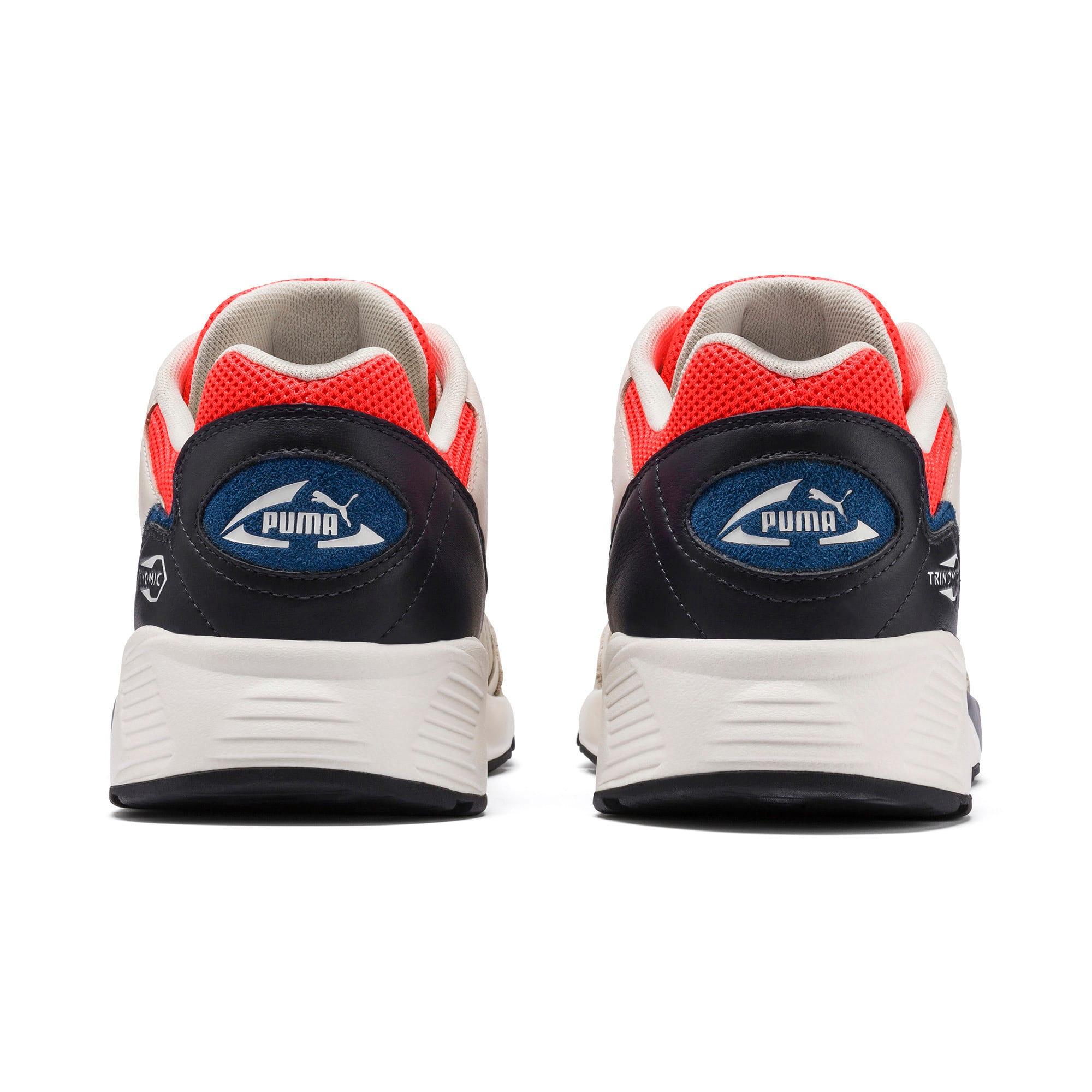 Thumbnail 3 of Prevail Classic Trainers, Whisper White-Nrgy Red, medium-IND