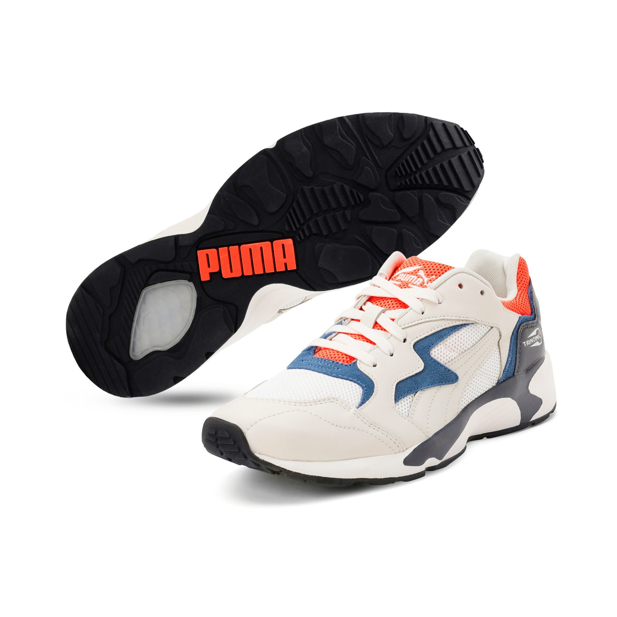 Thumbnail 2 of Prevail Classic Trainers, Whisper White-Nrgy Red, medium-IND