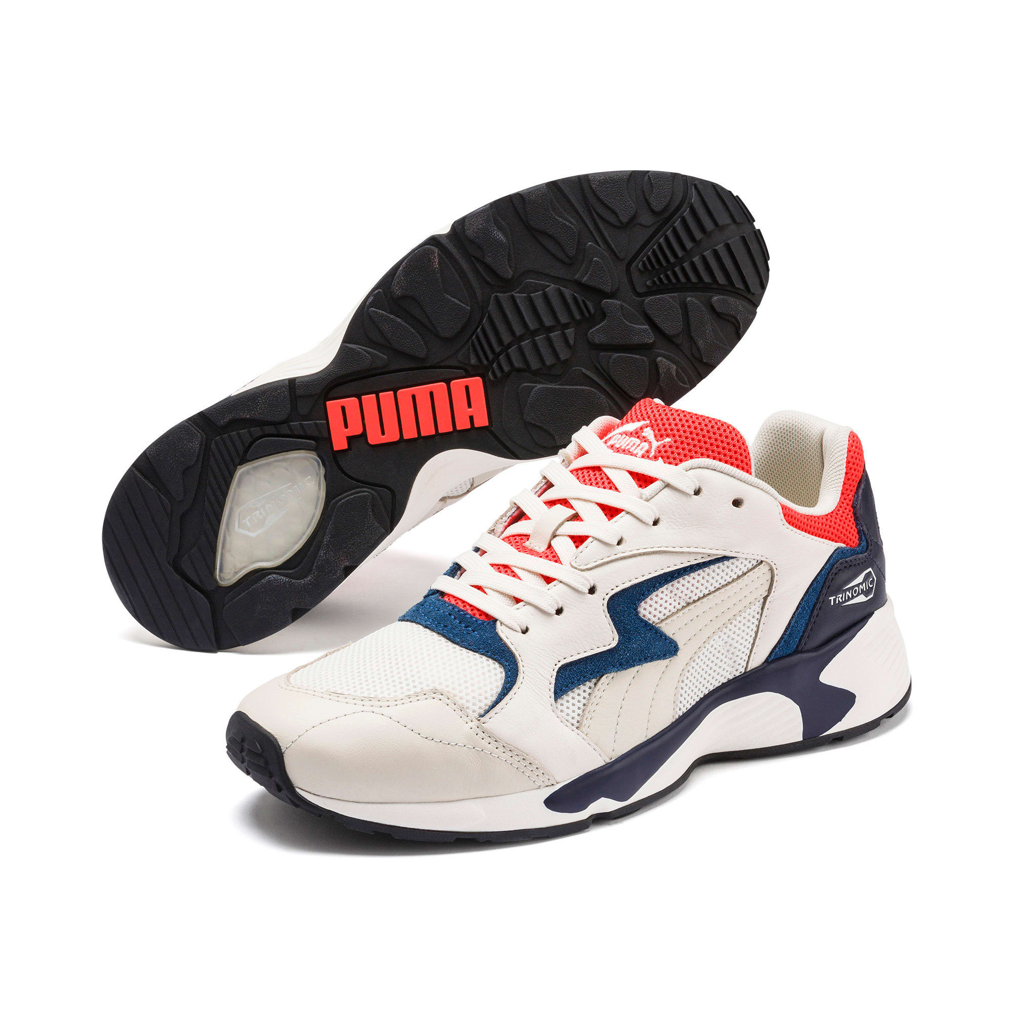 Thumbnail 2 of Prevail Classic Sneakers, Whisper White-Nrgy Red, medium
