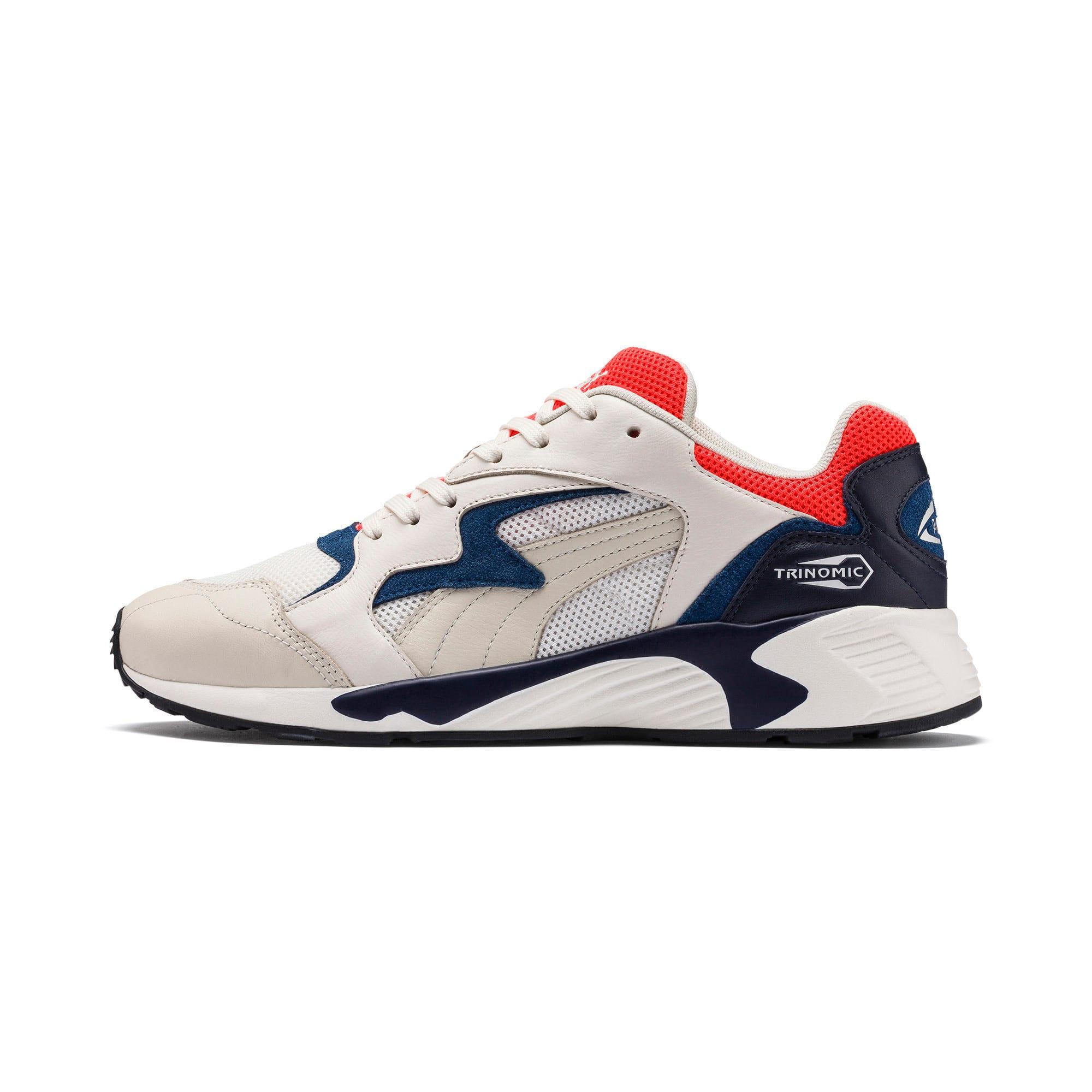 Thumbnail 1 of Prevail Classic Sneakers, Whisper White-Nrgy Red, medium
