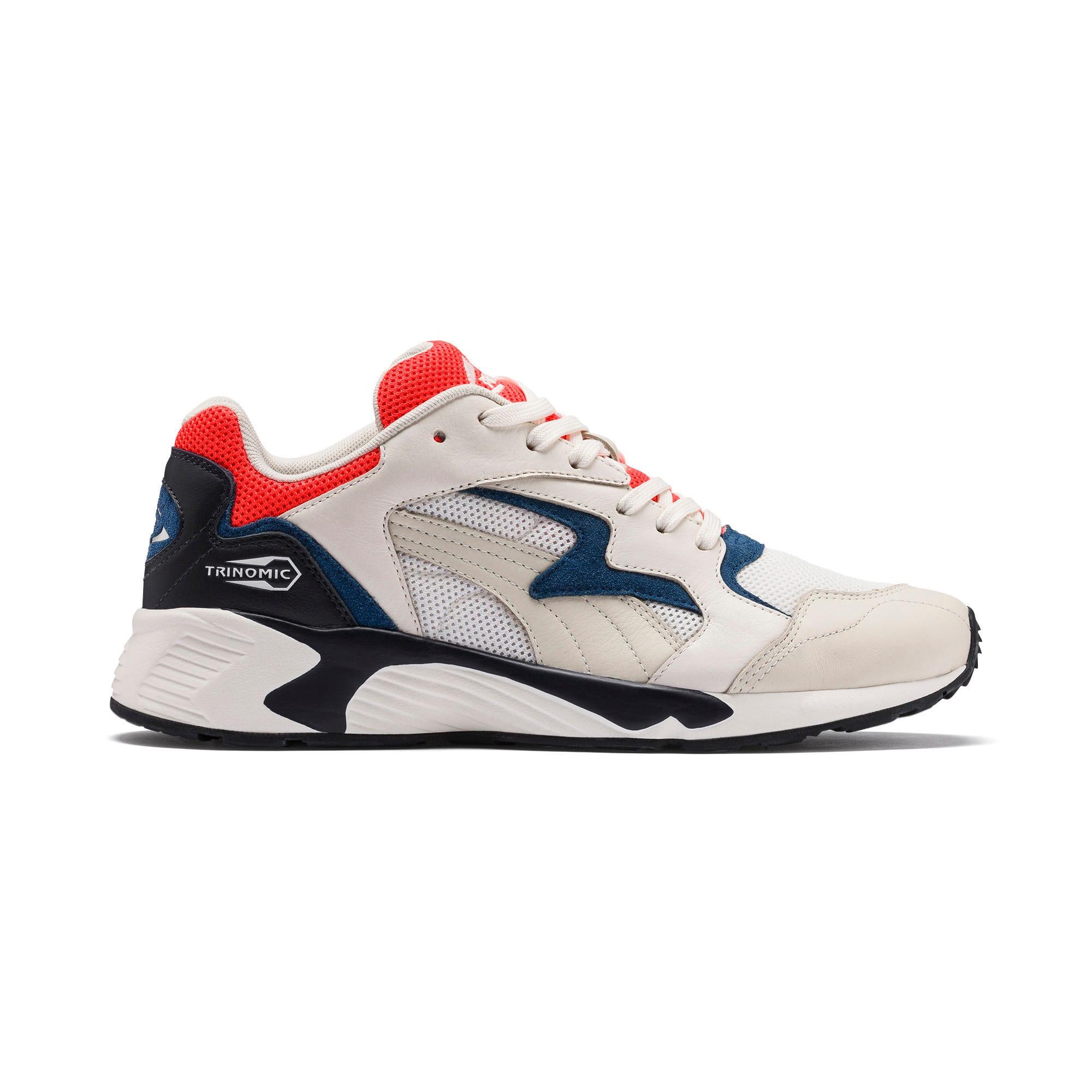 Thumbnail 5 of Prevail Classic Sneakers, Whisper White-Nrgy Red, medium