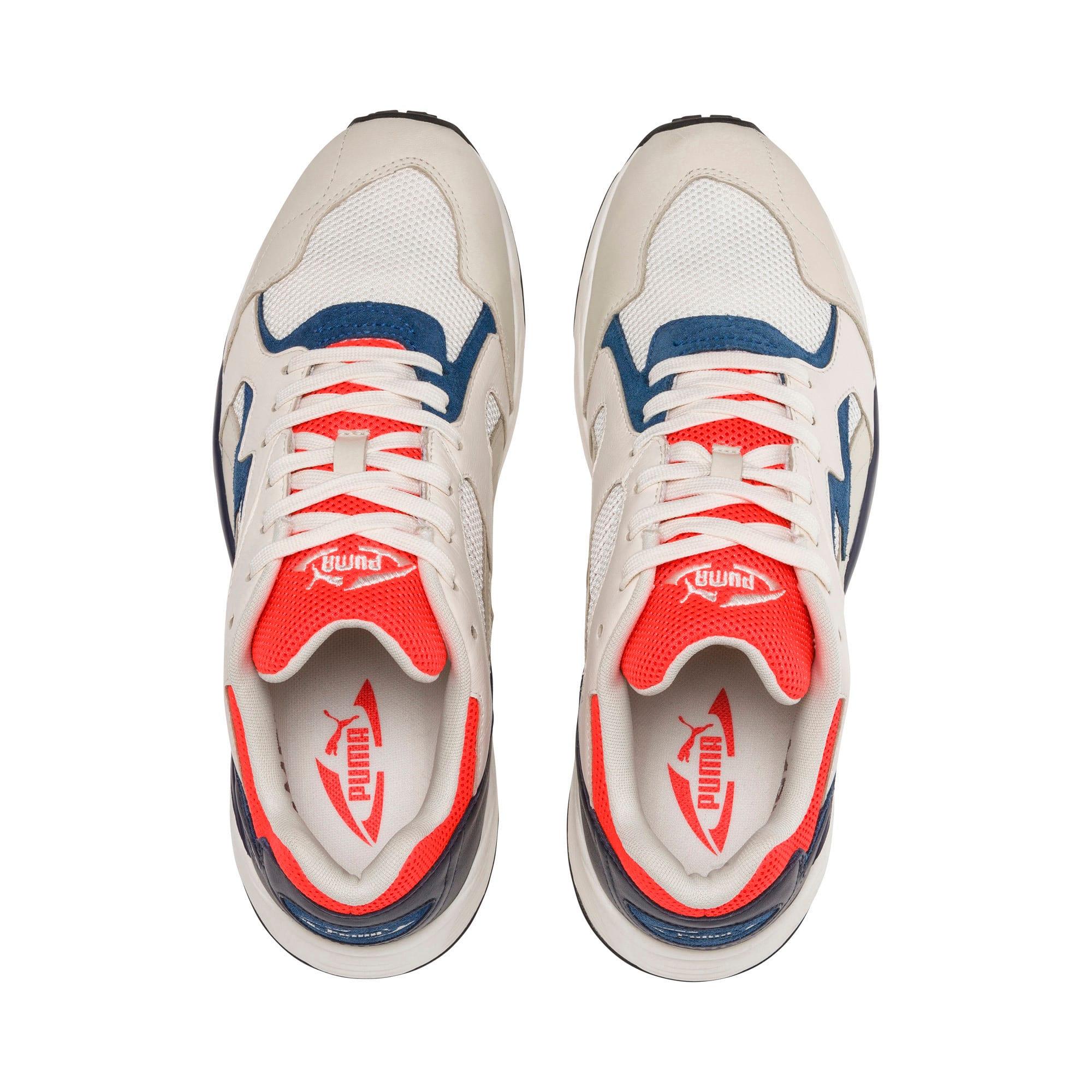 Thumbnail 6 of Prevail Classic Sneakers, Whisper White-Nrgy Red, medium