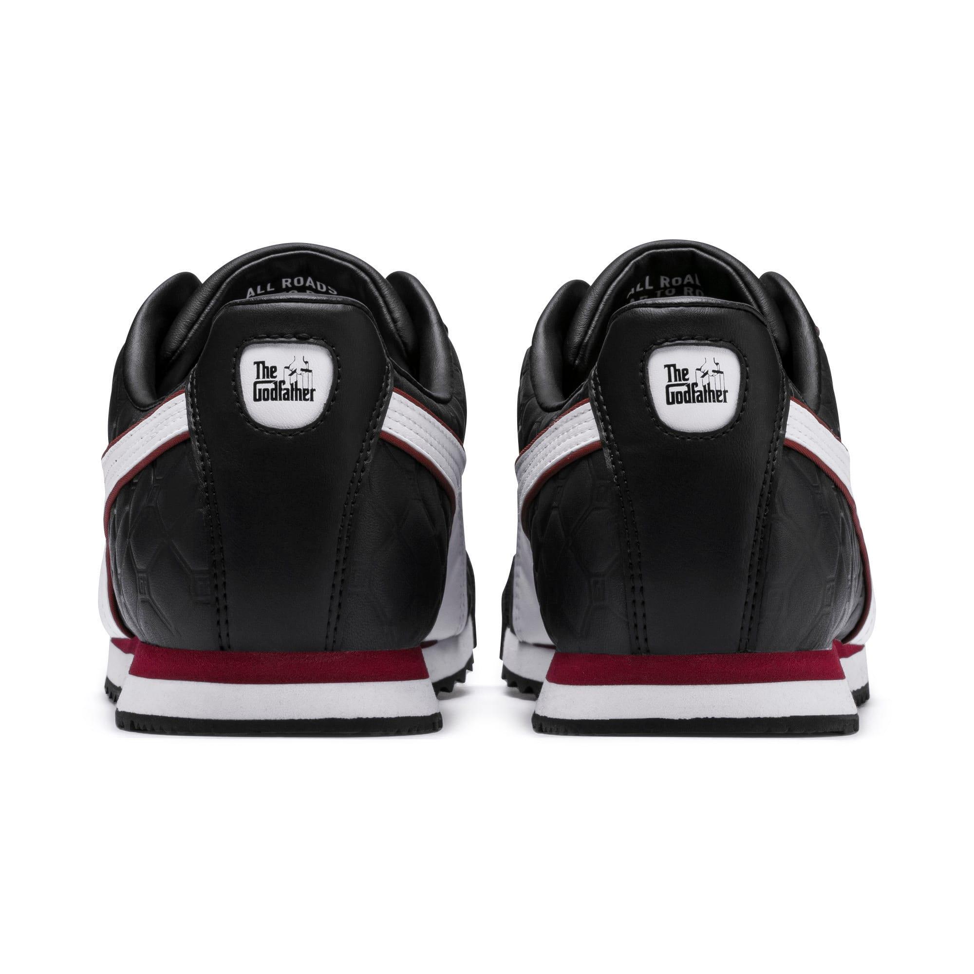 Miniatura 3 de Zapatos deportivos PUMA x THE GODFATHER Roma Louis, Puma Black-Fired Brick, mediano