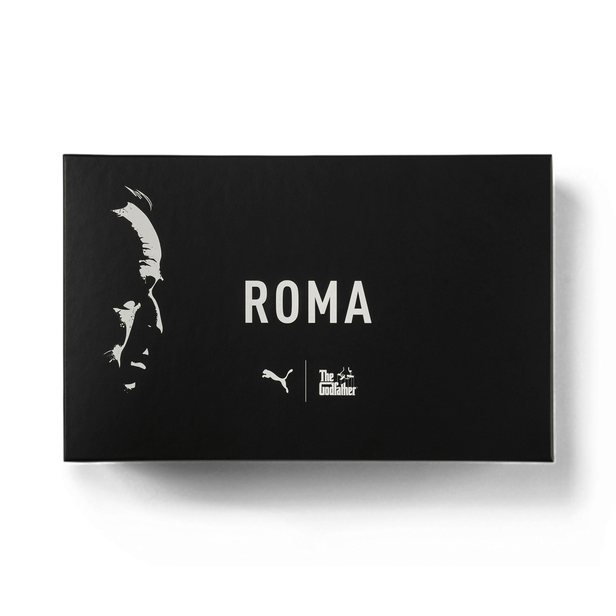 Thumbnail 7 of Roma x The Godfather LOUIS Herren Sneaker, Puma Black-Fired Brick, medium
