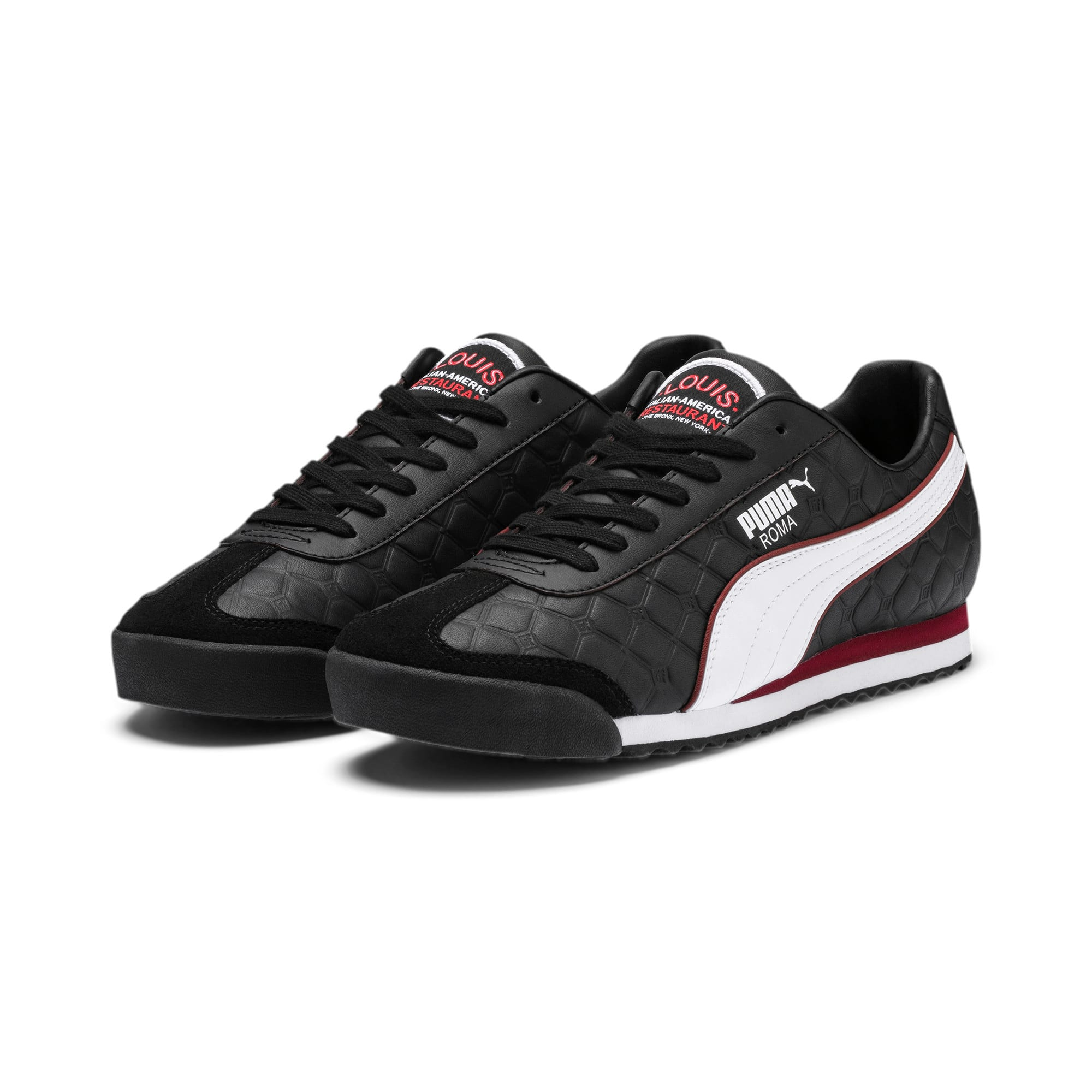 Thumbnail 2 of Roma x The Godfather LOUIS Herren Sneaker, Puma Black-Fired Brick, medium