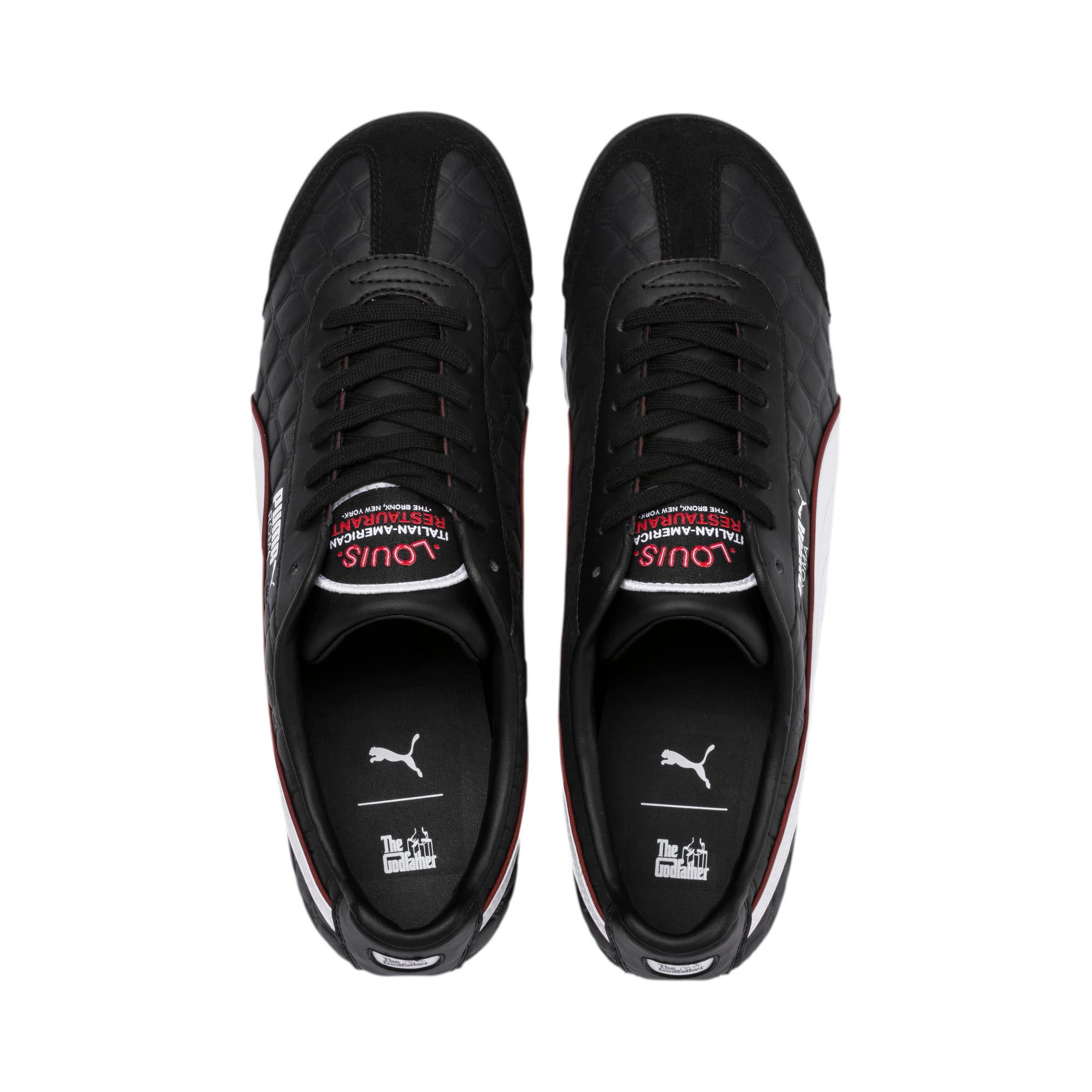 Thumbnail 6 of Roma x The Godfather LOUIS Herren Sneaker, Puma Black-Fired Brick, medium