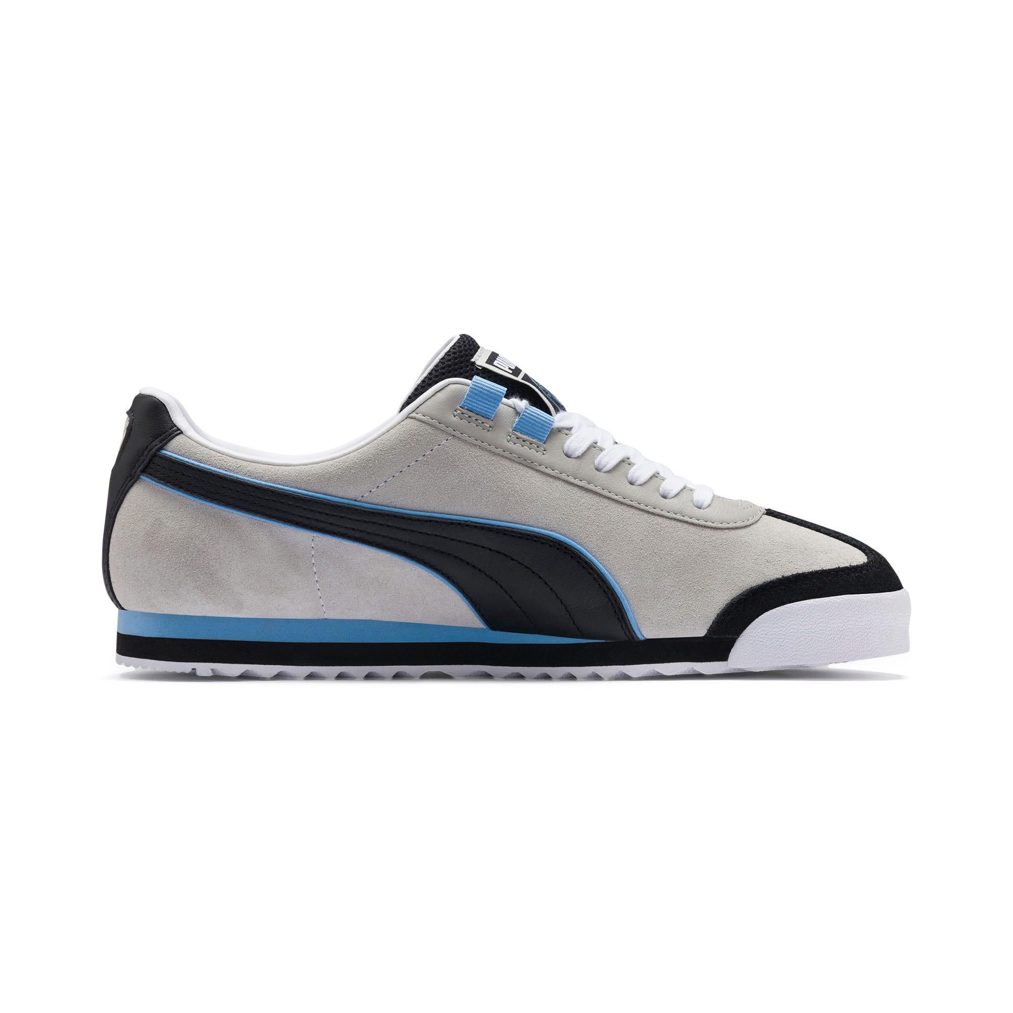 Thumbnail 5 of Roma Manchester City Men's Sneakers, Gray Violet-Team Light Blue, medium
