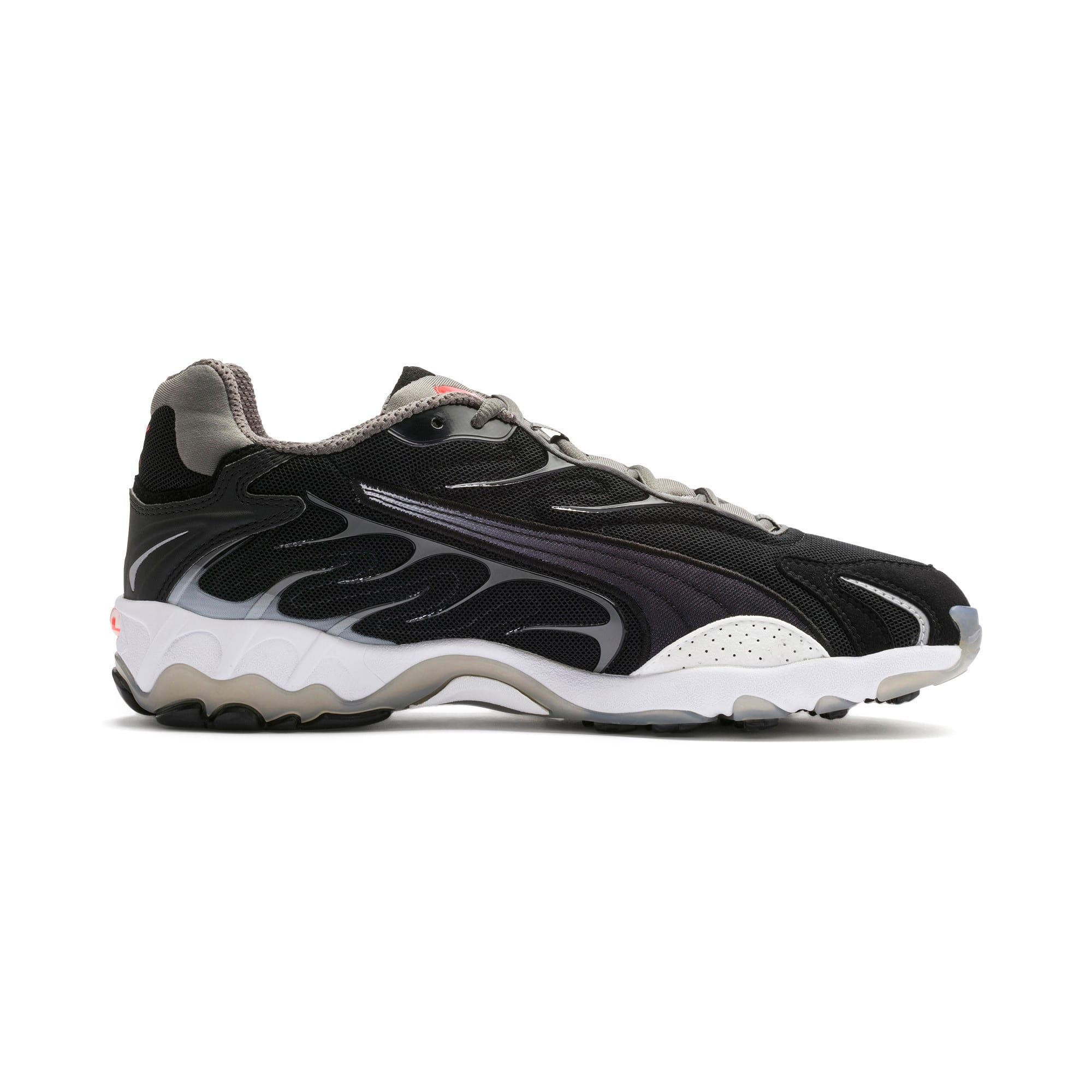 Thumbnail 6 of Inhale Flares Trainers, Puma Black-Puma White, medium