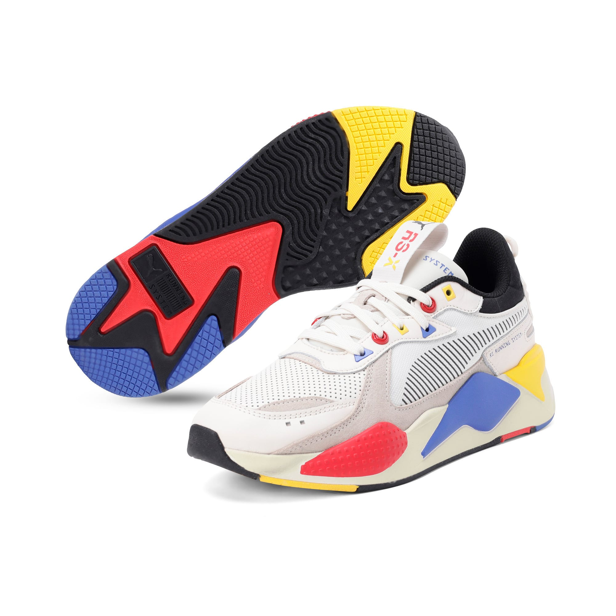 Thumbnail 4 of RS-X Colour Theory Trainers, Whisper White-Puma Black, medium-IND