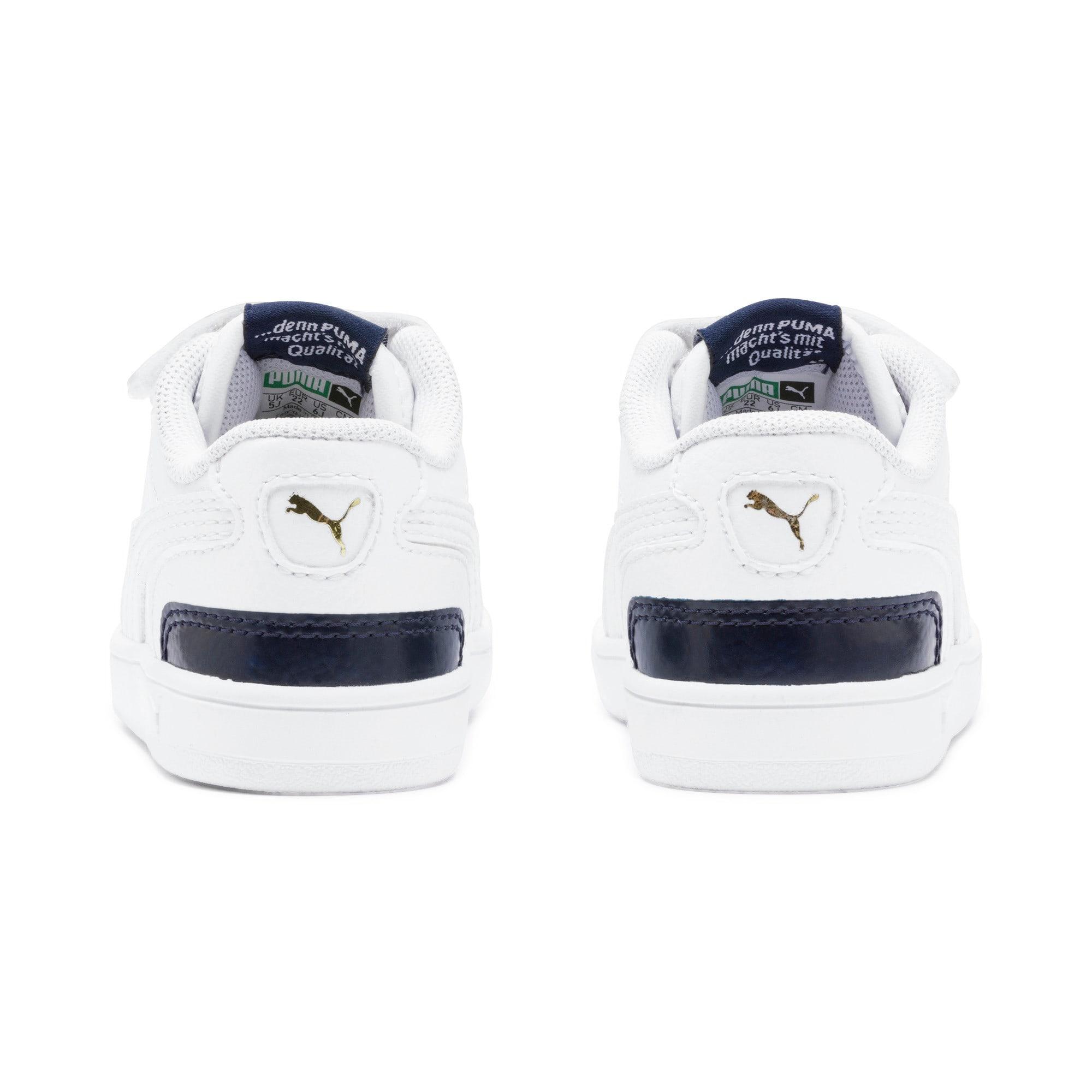Thumbnail 3 of Ralph Sampson Low AC Toddler Shoes, White-Peacoat-White, medium