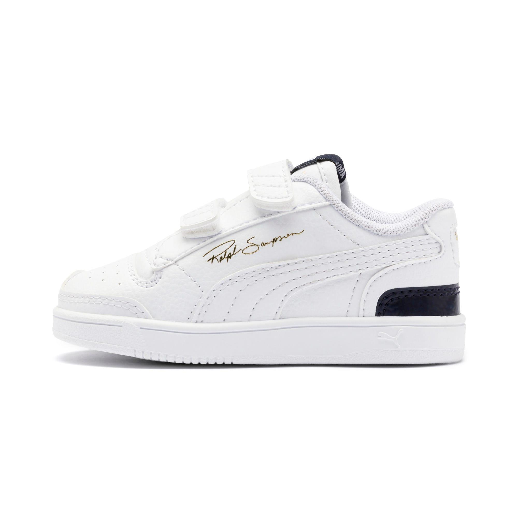 Thumbnail 1 of Ralph Sampson Low AC Toddler Shoes, White-Peacoat-White, medium