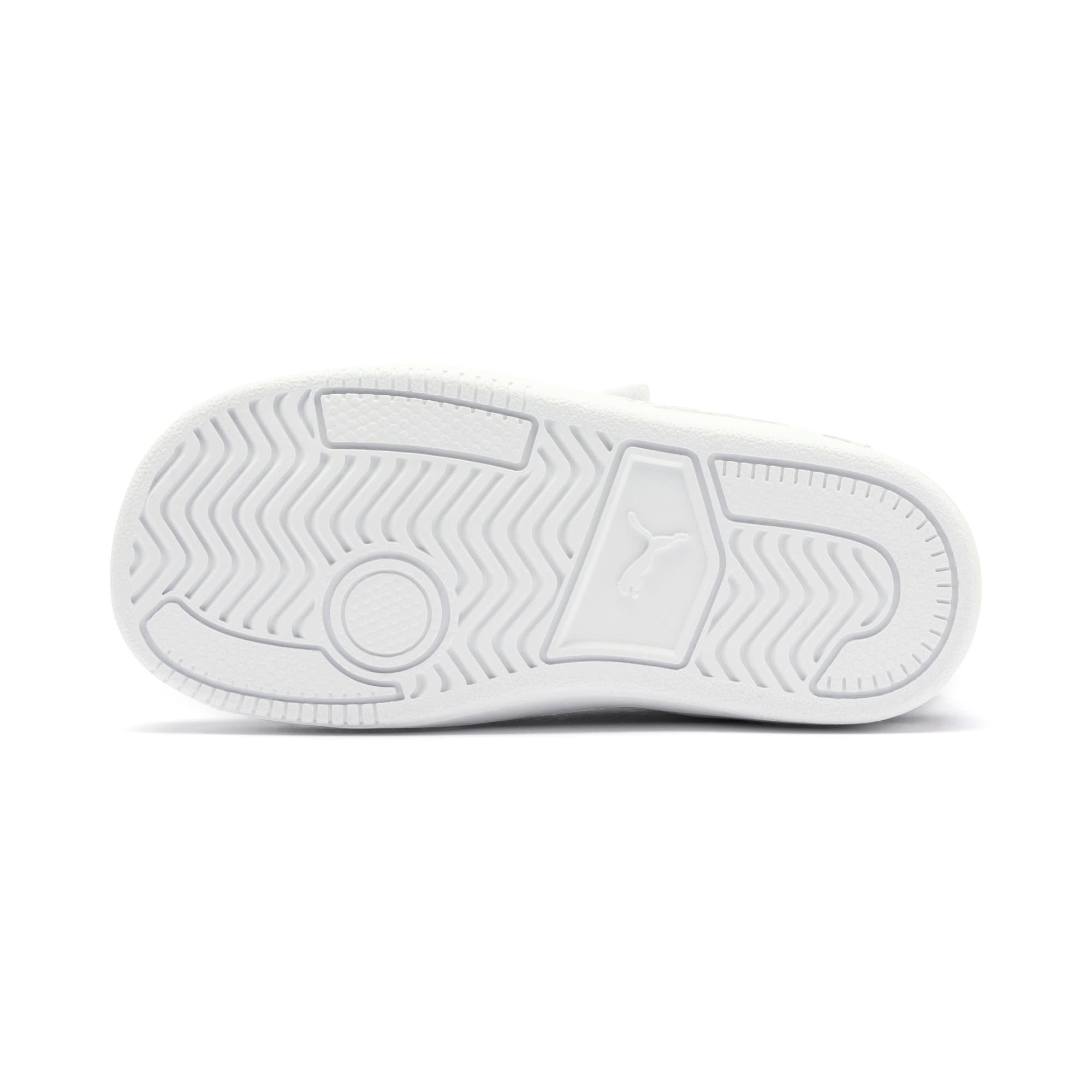 Thumbnail 4 of Ralph Sampson Lo V Babies' Trainers, White-Peacoat-White, medium