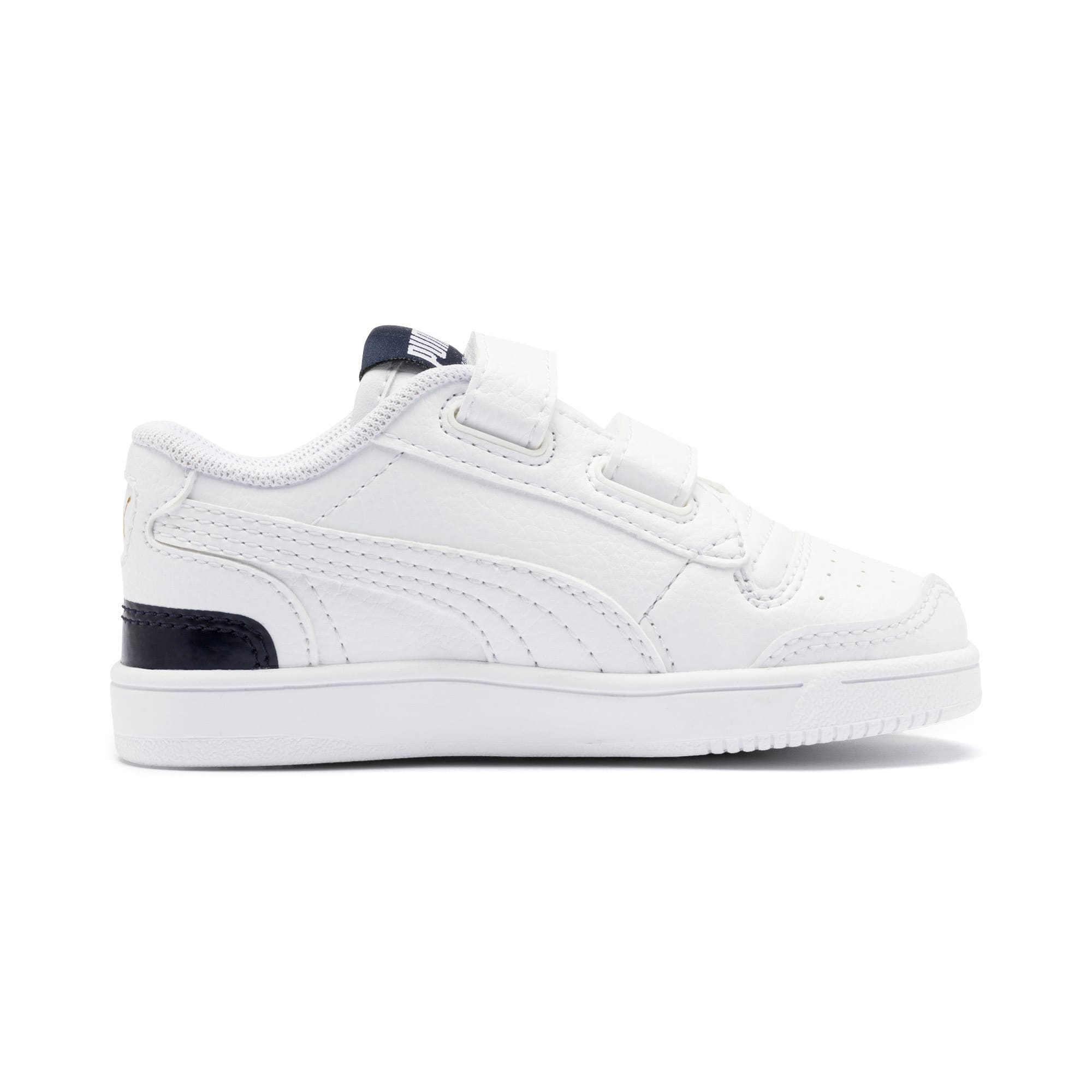 Thumbnail 5 of Ralph Sampson Lo V Babies' Trainers, White-Peacoat-White, medium