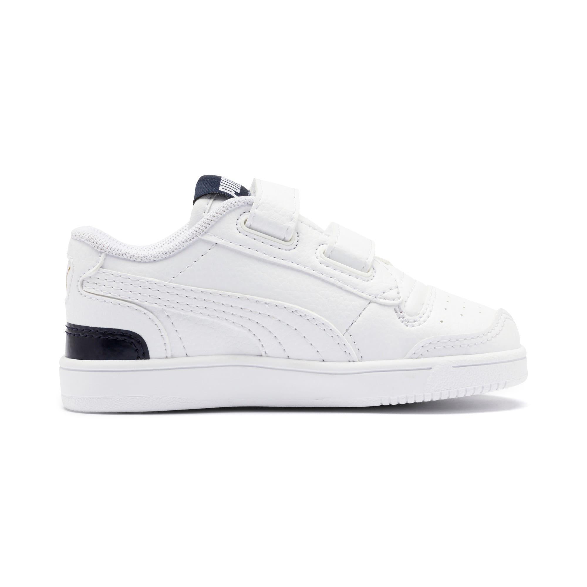 Thumbnail 5 of Ralph Sampson Low AC Toddler Shoes, White-Peacoat-White, medium