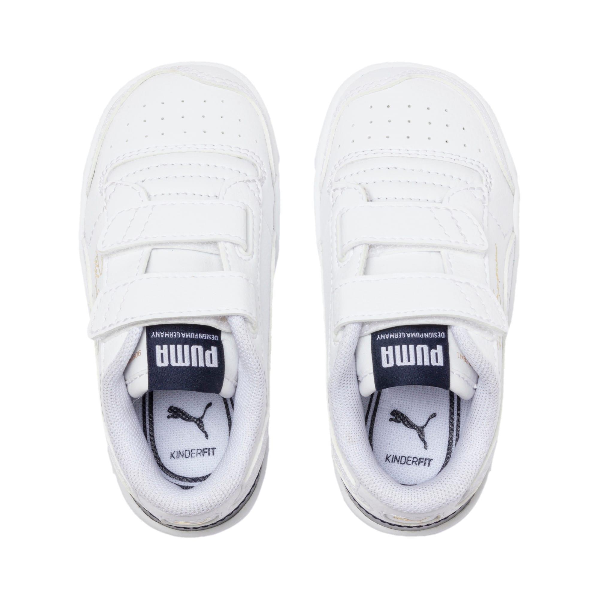 Thumbnail 6 of Ralph Sampson Low AC Toddler Shoes, White-Peacoat-White, medium