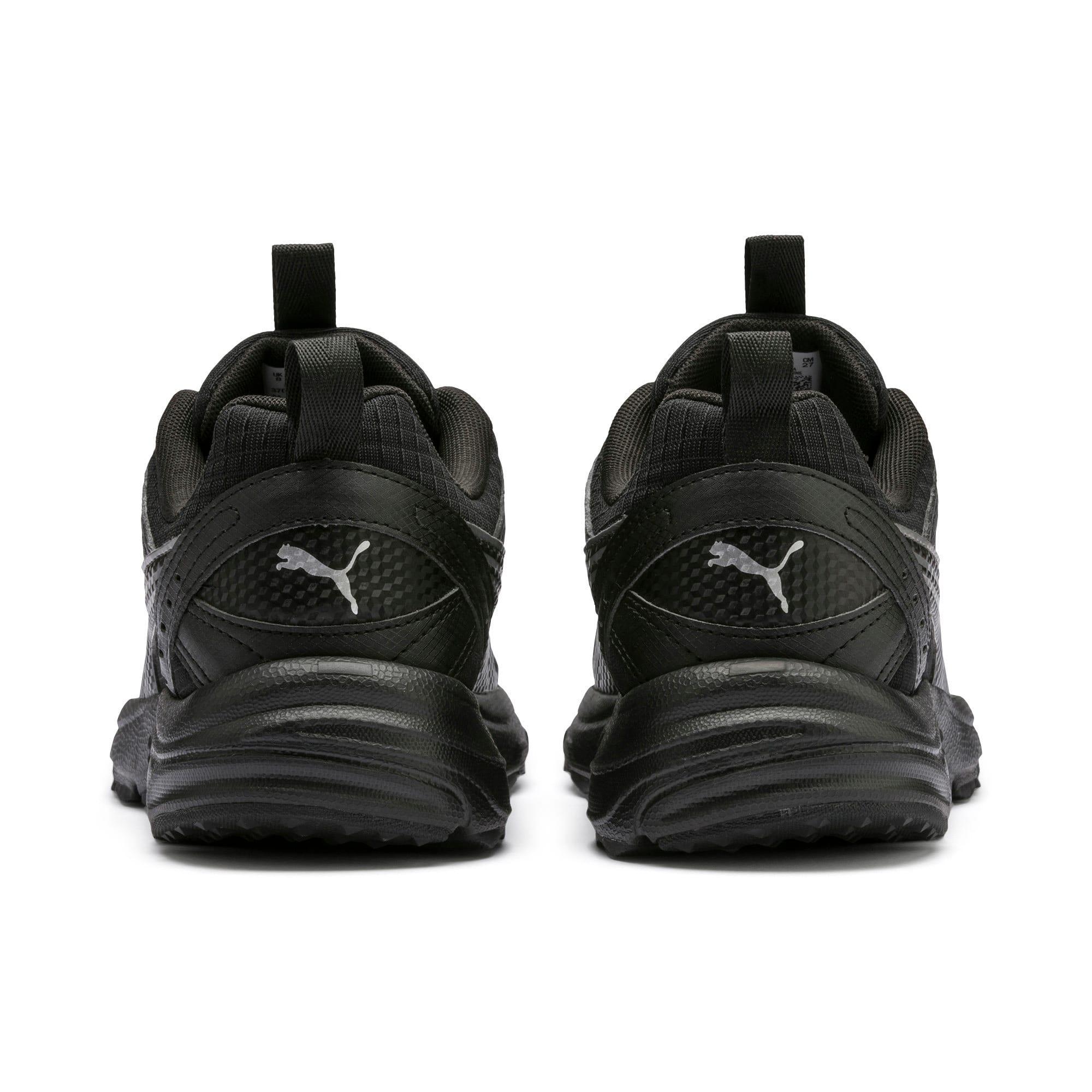 Thumbnail 4 of Axis Trail Sneakers, Puma Black-CASTLEROCK-Silver, medium