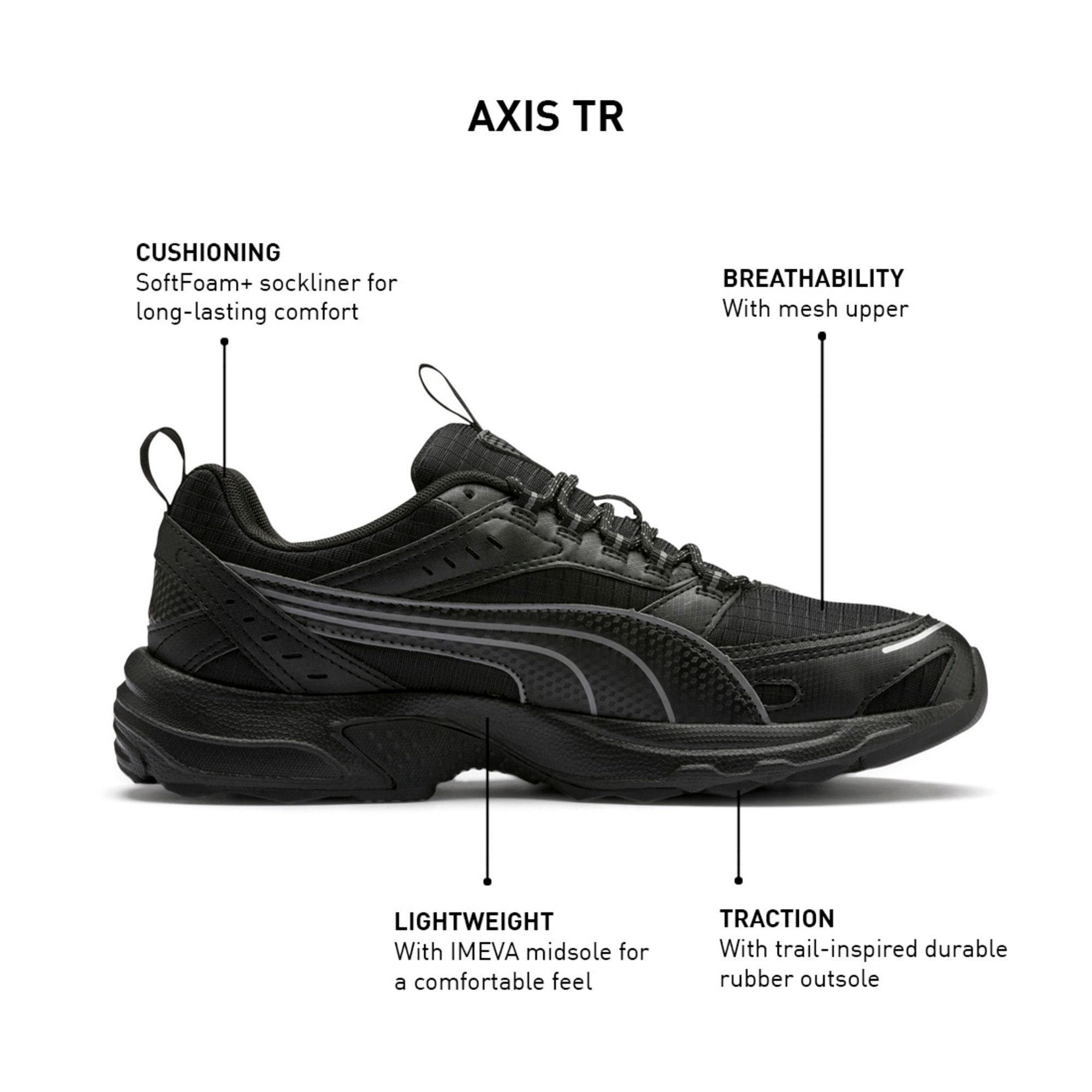 Thumbnail 9 of Axis Training Trainers, Puma Black-CASTLEROCK-Silver, medium-IND