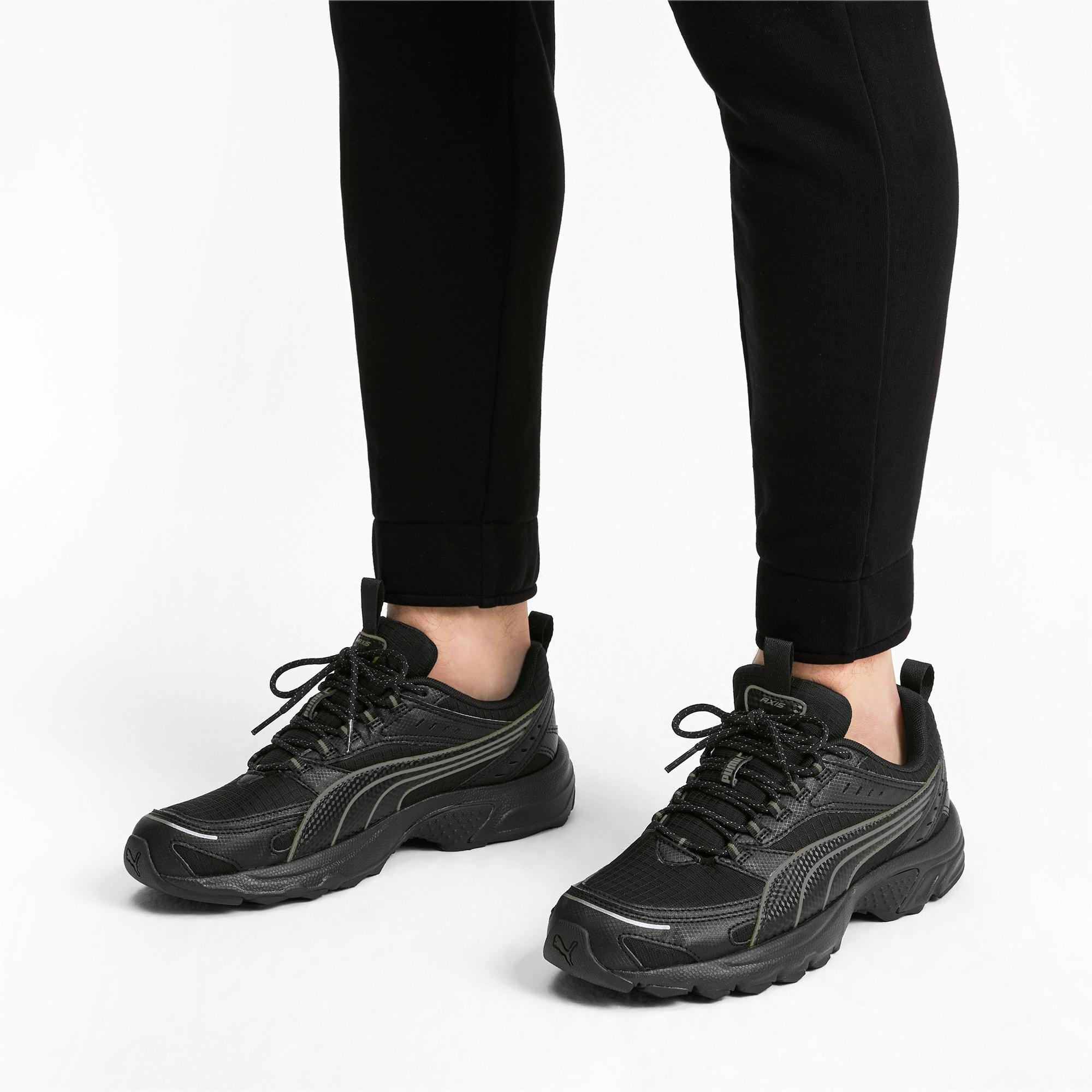 Thumbnail 2 of Axis Trail Sneakers, Puma Black-CASTLEROCK-Silver, medium