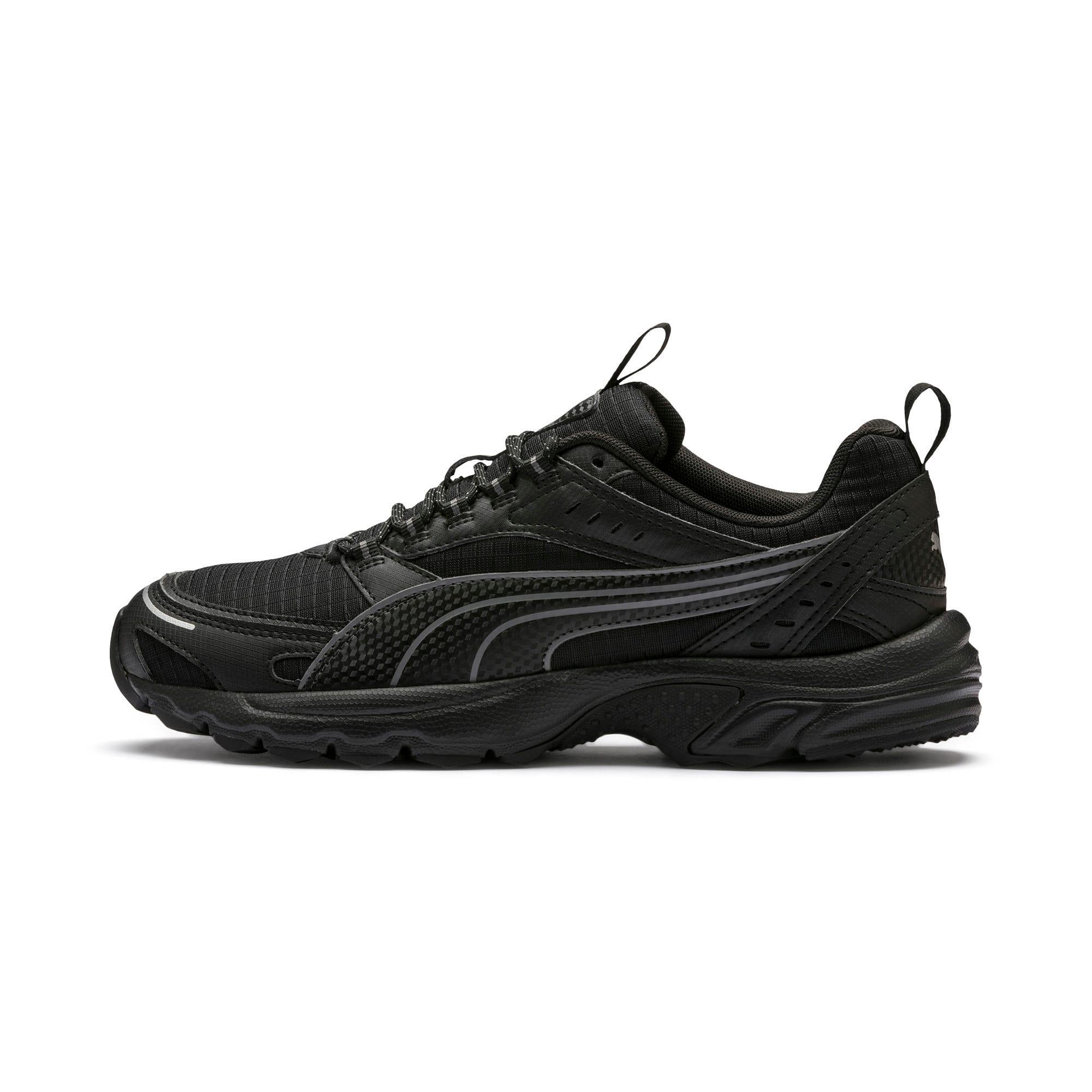 Thumbnail 1 of Axis Trail Sneakers, Puma Black-CASTLEROCK-Silver, medium