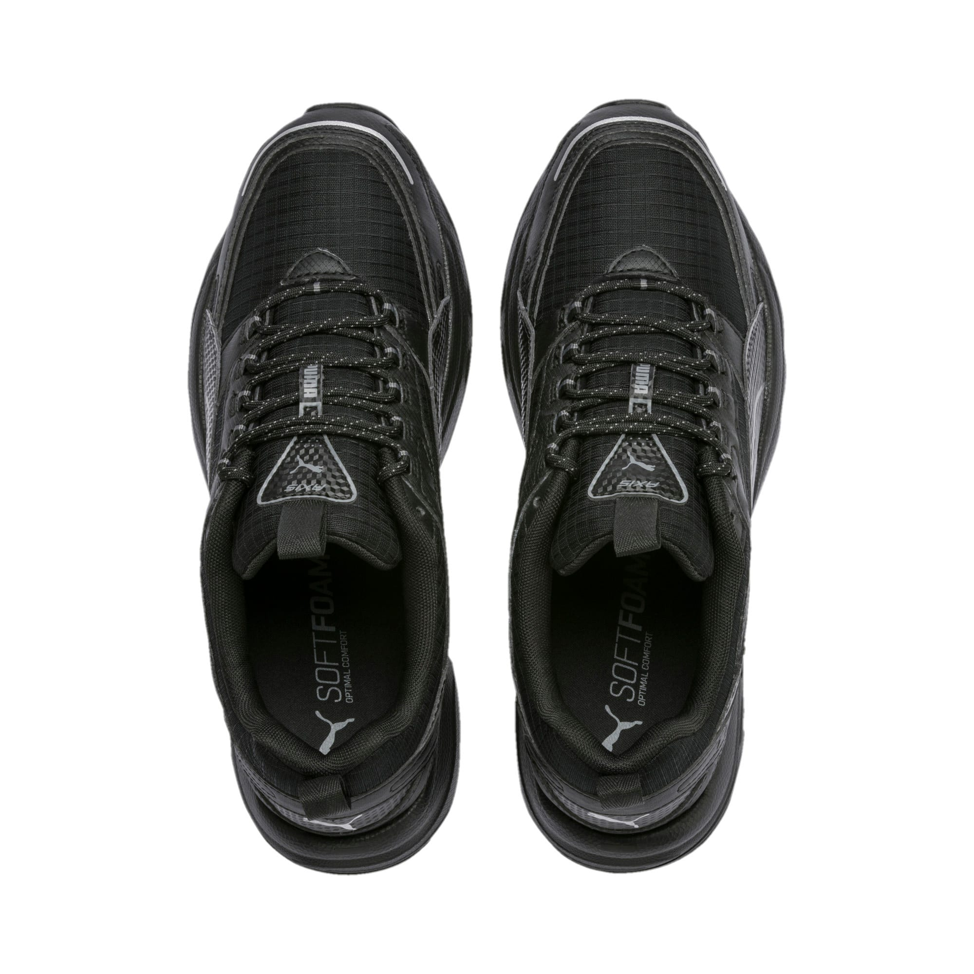 Thumbnail 7 of Axis Trail Sneakers, Puma Black-CASTLEROCK-Silver, medium