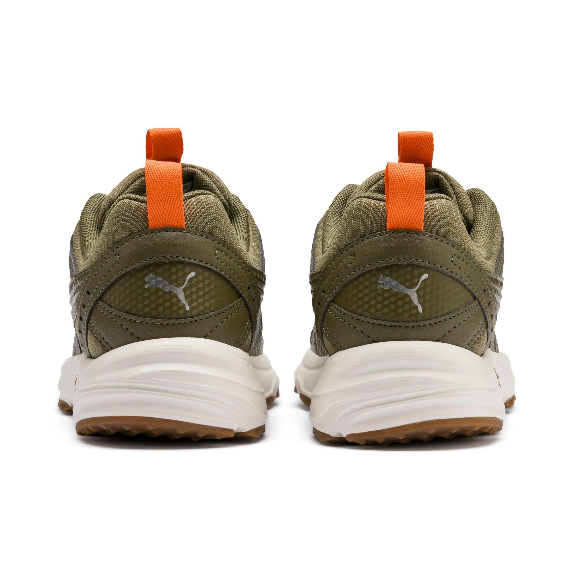 Thumbnail 4 of Axis Training Trainers, B Olive-Orange-Slvr-WWht-Gum, medium