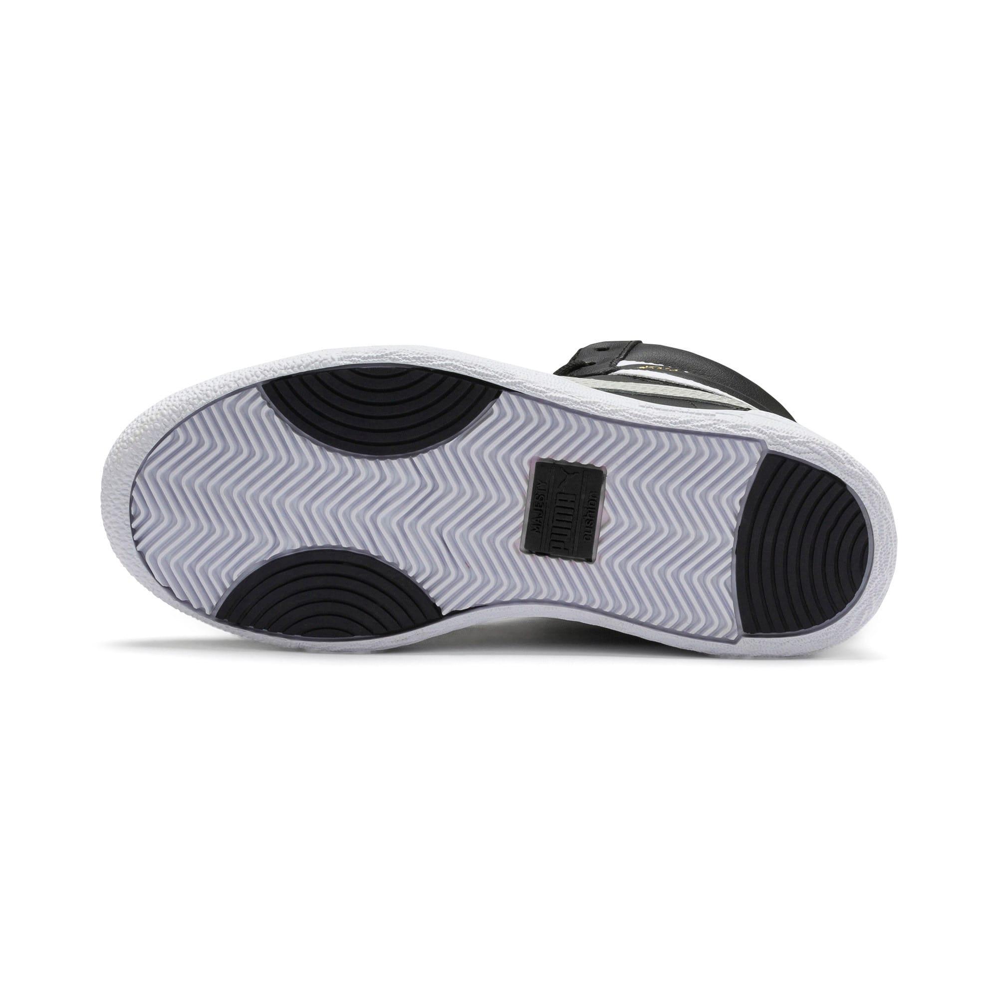 Thumbnail 4 of Ralph Sampson Mid Sneakers JR, Black-Gray Violet-White, medium