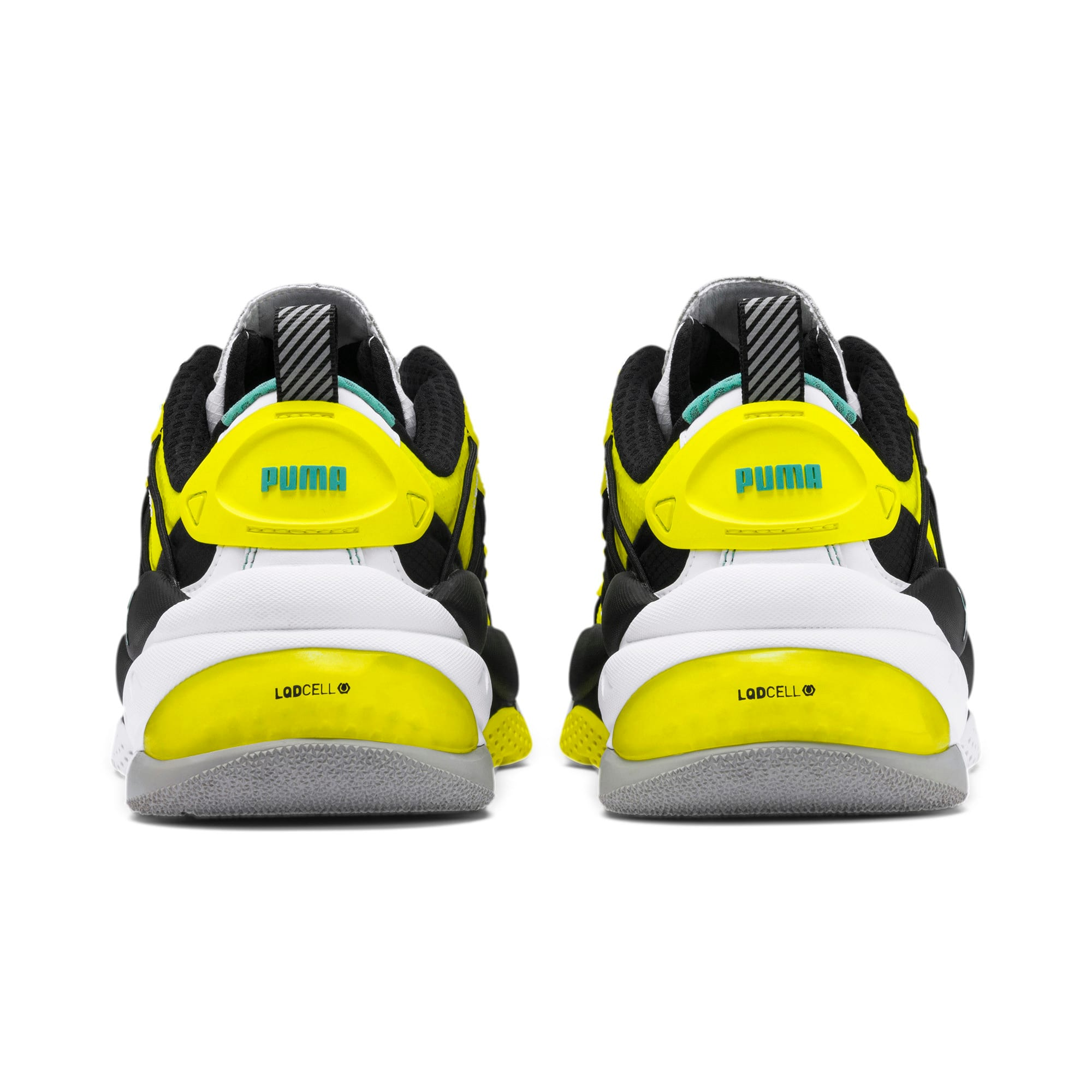 Thumbnail 3 of LQDCELL Omega Lab Sneaker, Puma White-Yellow Alert, medium