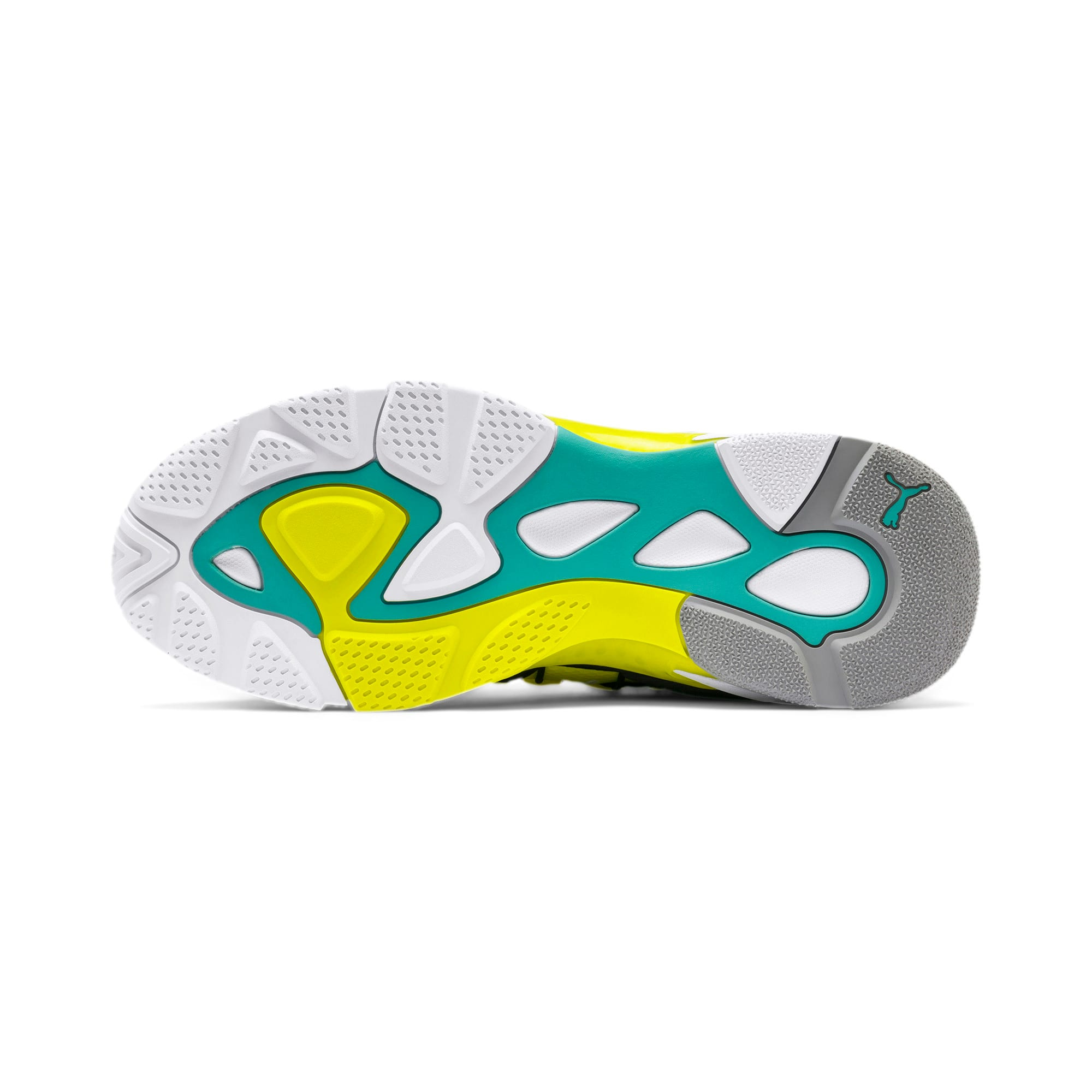 Thumbnail 4 of LQDCELL Omega Lab Sneaker, Puma White-Yellow Alert, medium