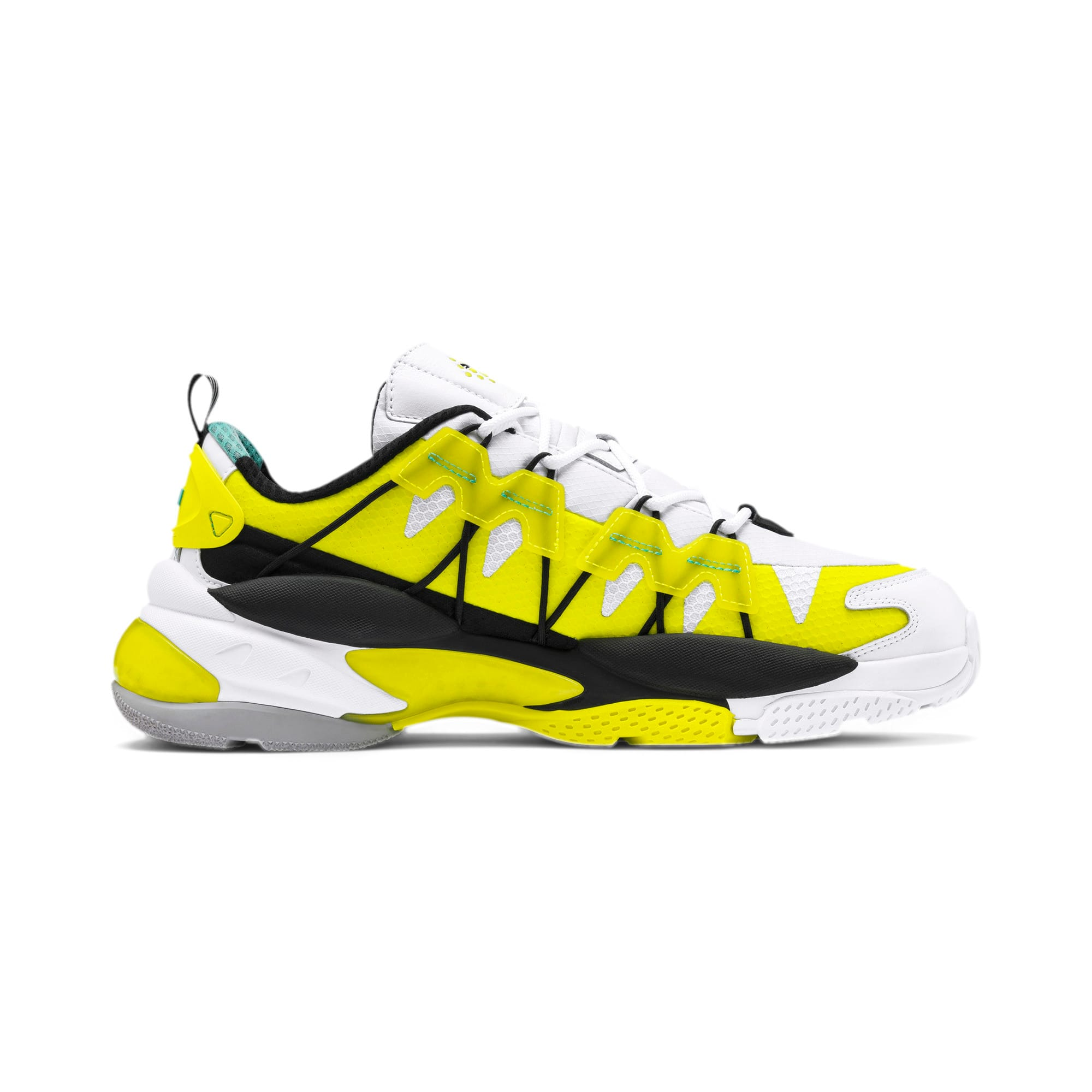 Thumbnail 5 of LQDCELL Omega Lab Sneaker, Puma White-Yellow Alert, medium
