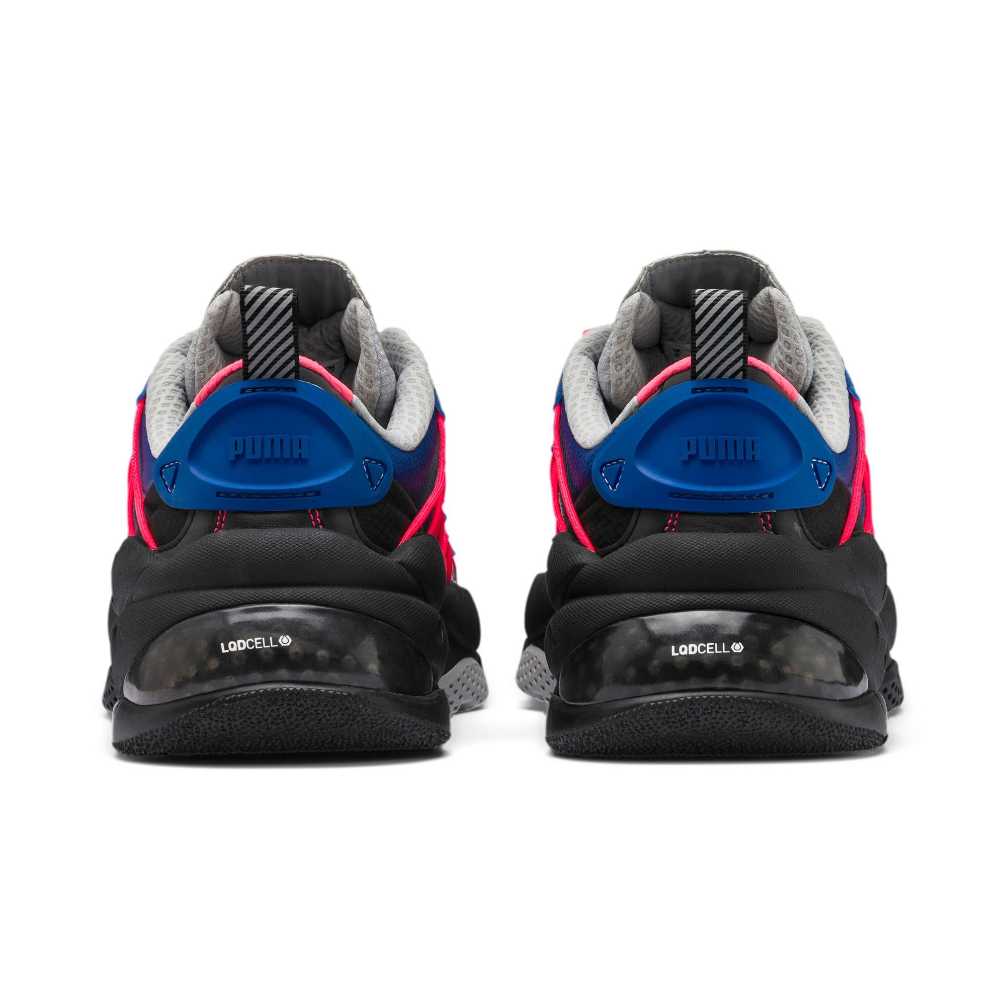 Thumbnail 3 of LQDCELL Omega Lab Training Shoes, Puma Black-Galaxy Blue, medium