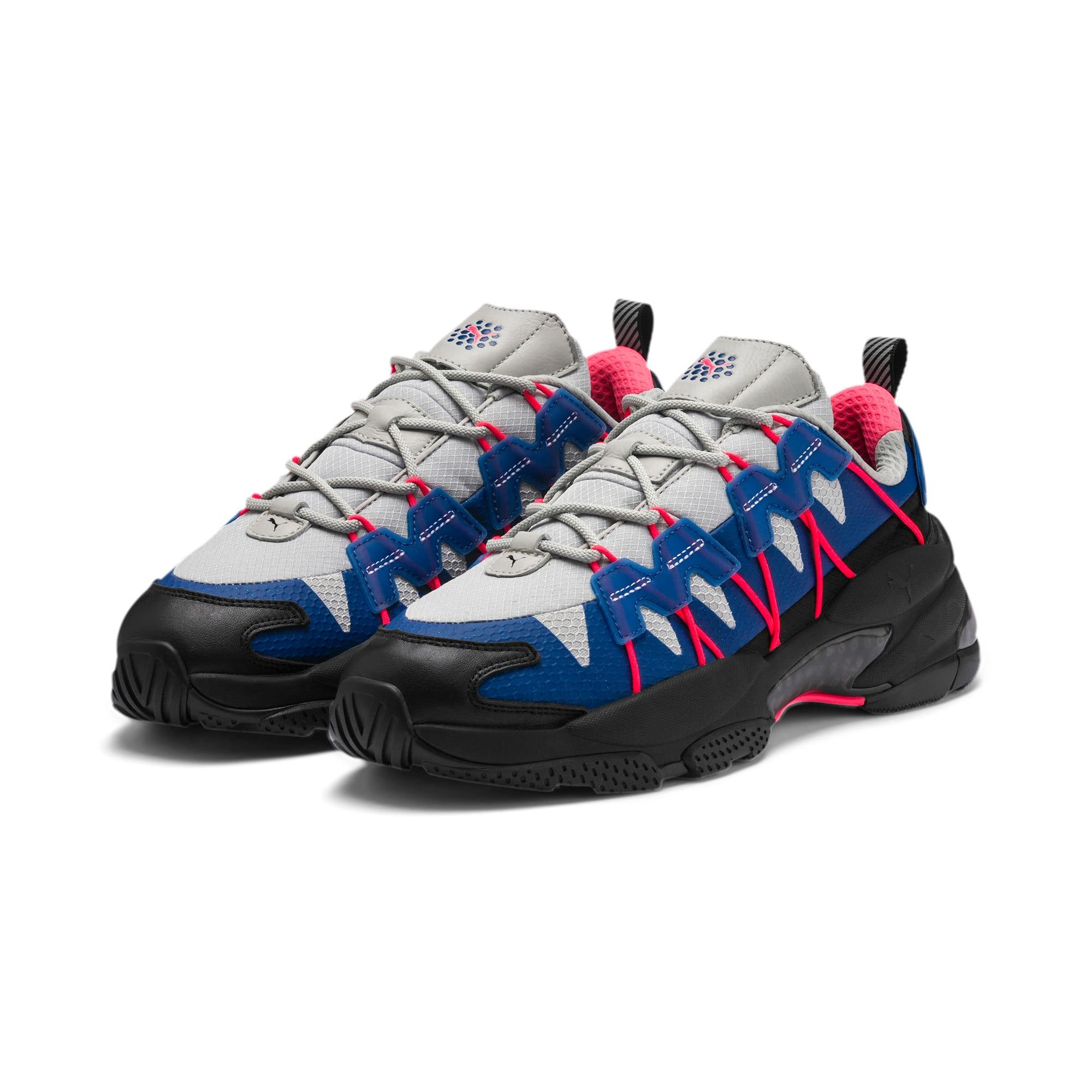 Thumbnail 2 of LQDCELL Omega Lab Training Shoes, Puma Black-Galaxy Blue, medium