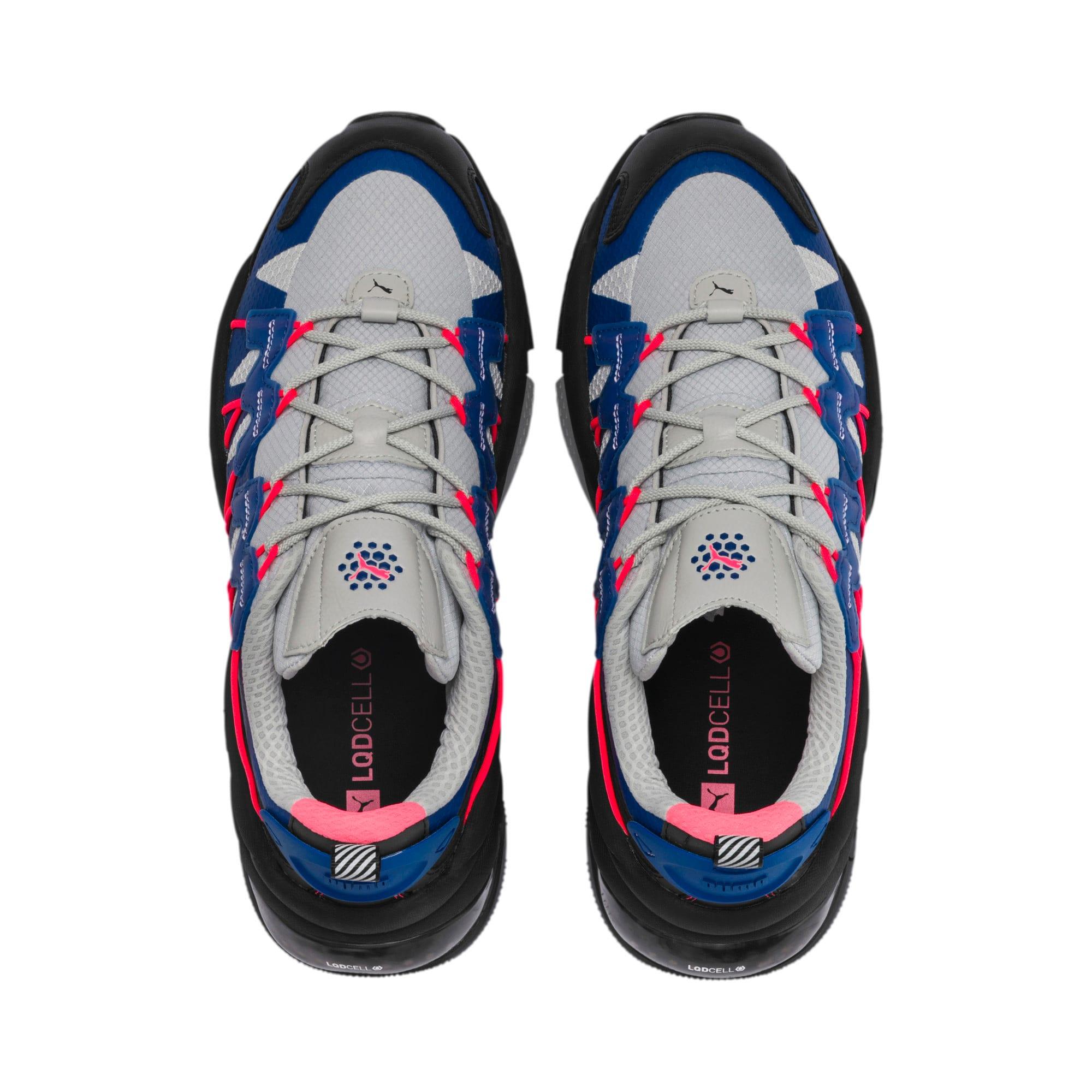 Thumbnail 6 of LQDCELL Omega Lab Training Shoes, Puma Black-Galaxy Blue, medium