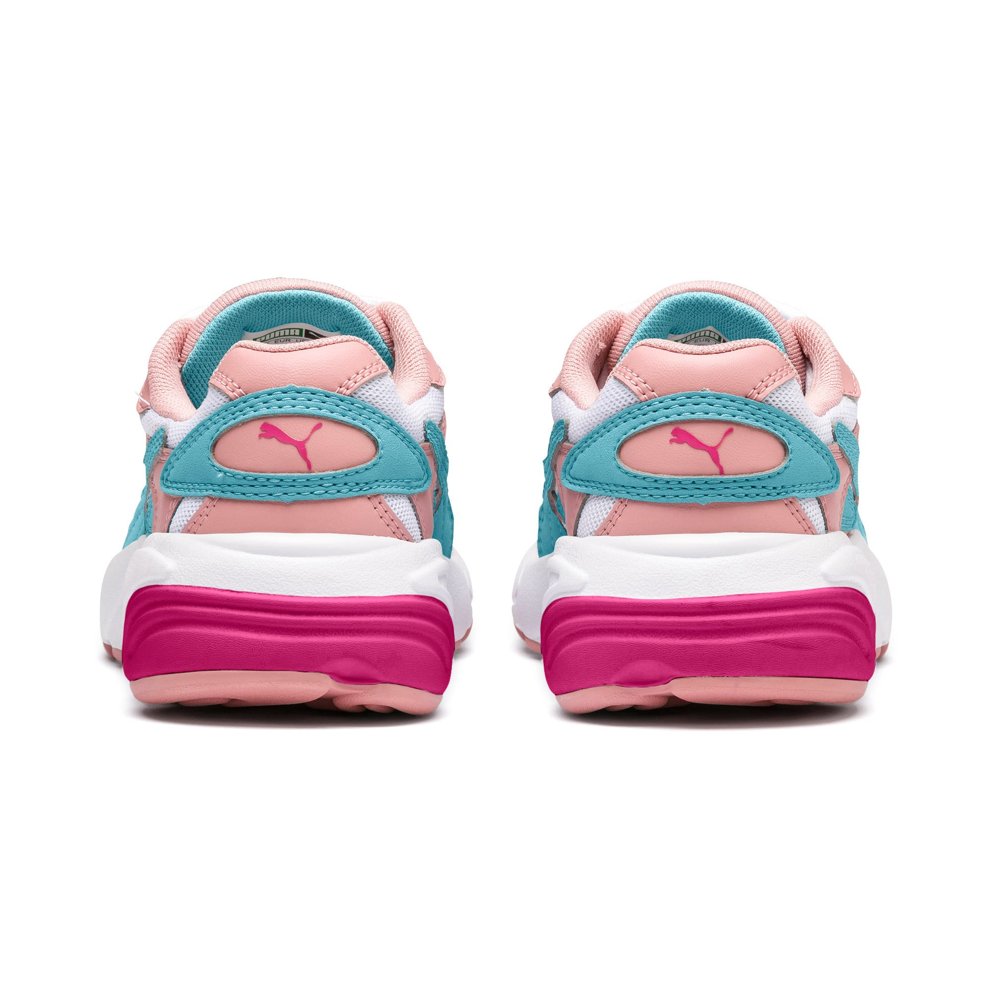 Thumbnail 3 of CELL Alien Cosmic Kids' Trainers, Bridal Rose-Milky Blue, medium