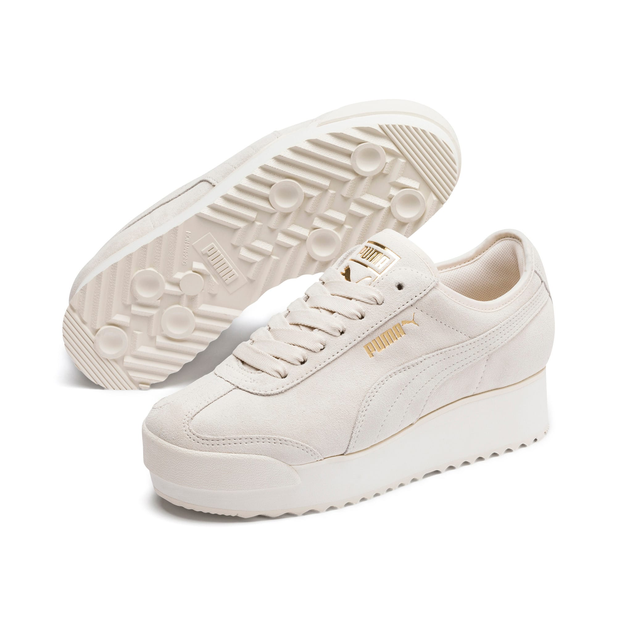 Thumbnail 3 of Roma Amor Suede Women's Sneakers, Pastel Parchment, medium