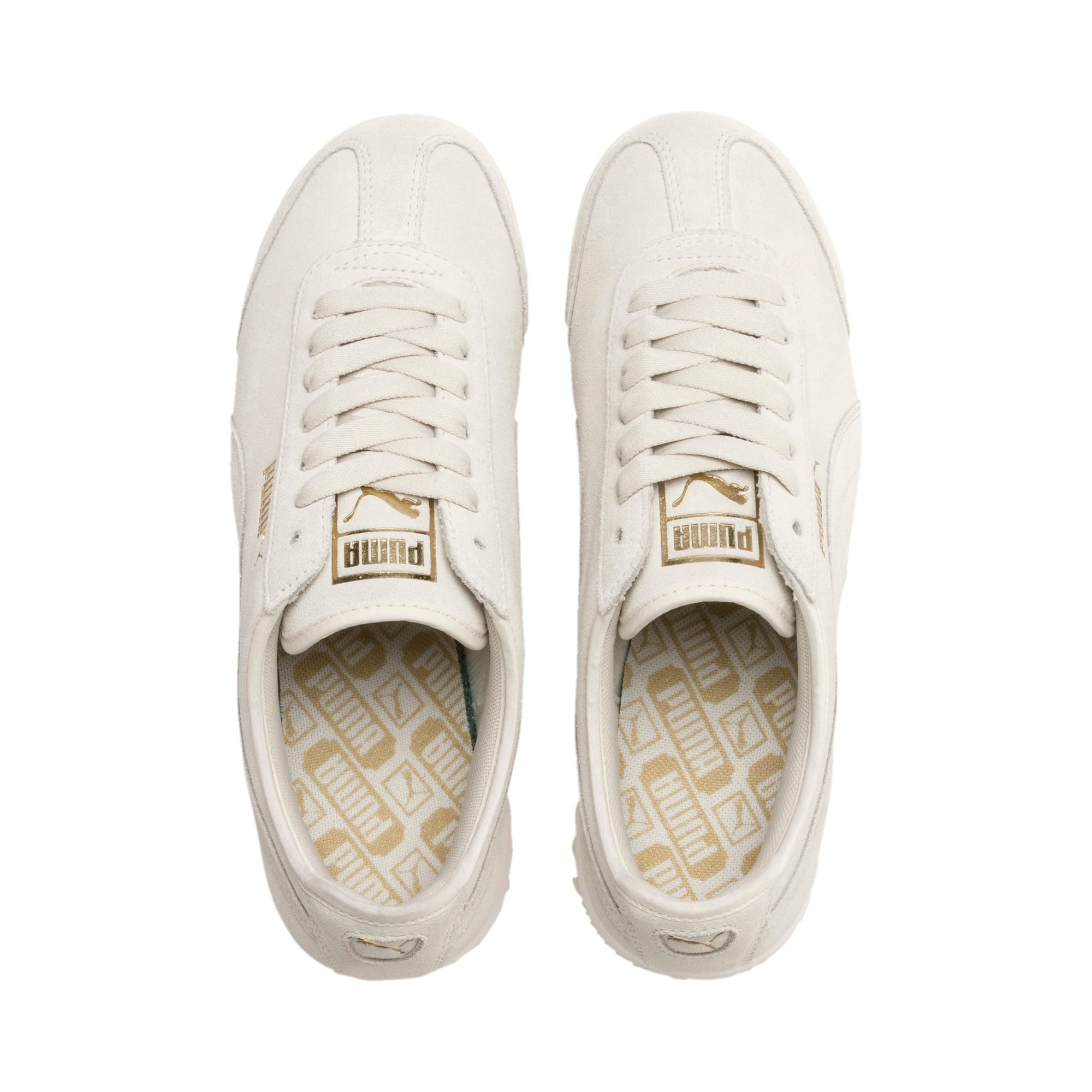 Thumbnail 7 of Roma Amor Suede Women's Sneakers, Pastel Parchment, medium
