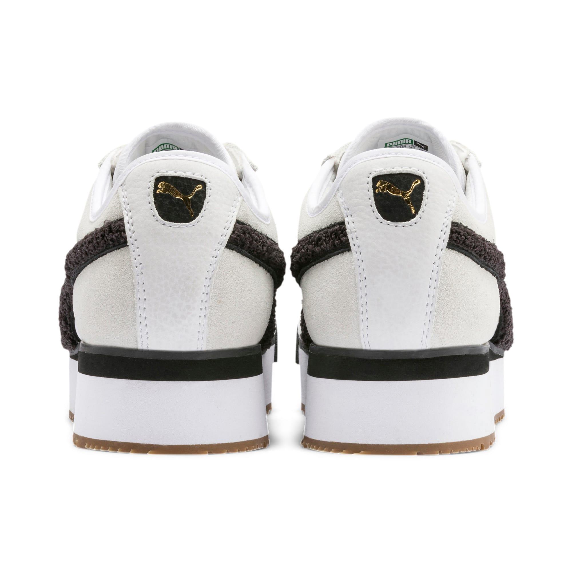 Thumbnail 4 of Roma Amor Heritage Women's Sneakers, Puma White-Puma Black, medium