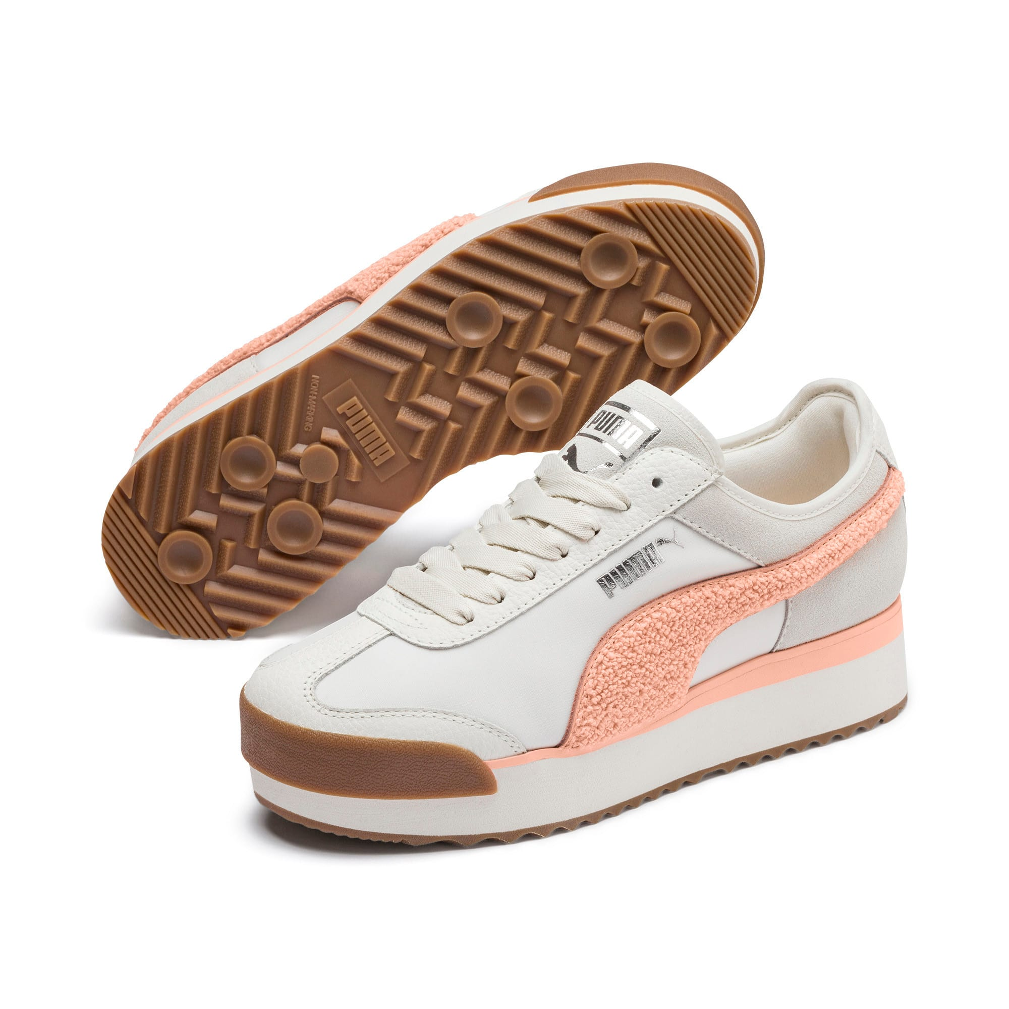 Thumbnail 3 of Roma Amor Heritage Women's Trainers, Marshmallow-Peach Parfait, medium