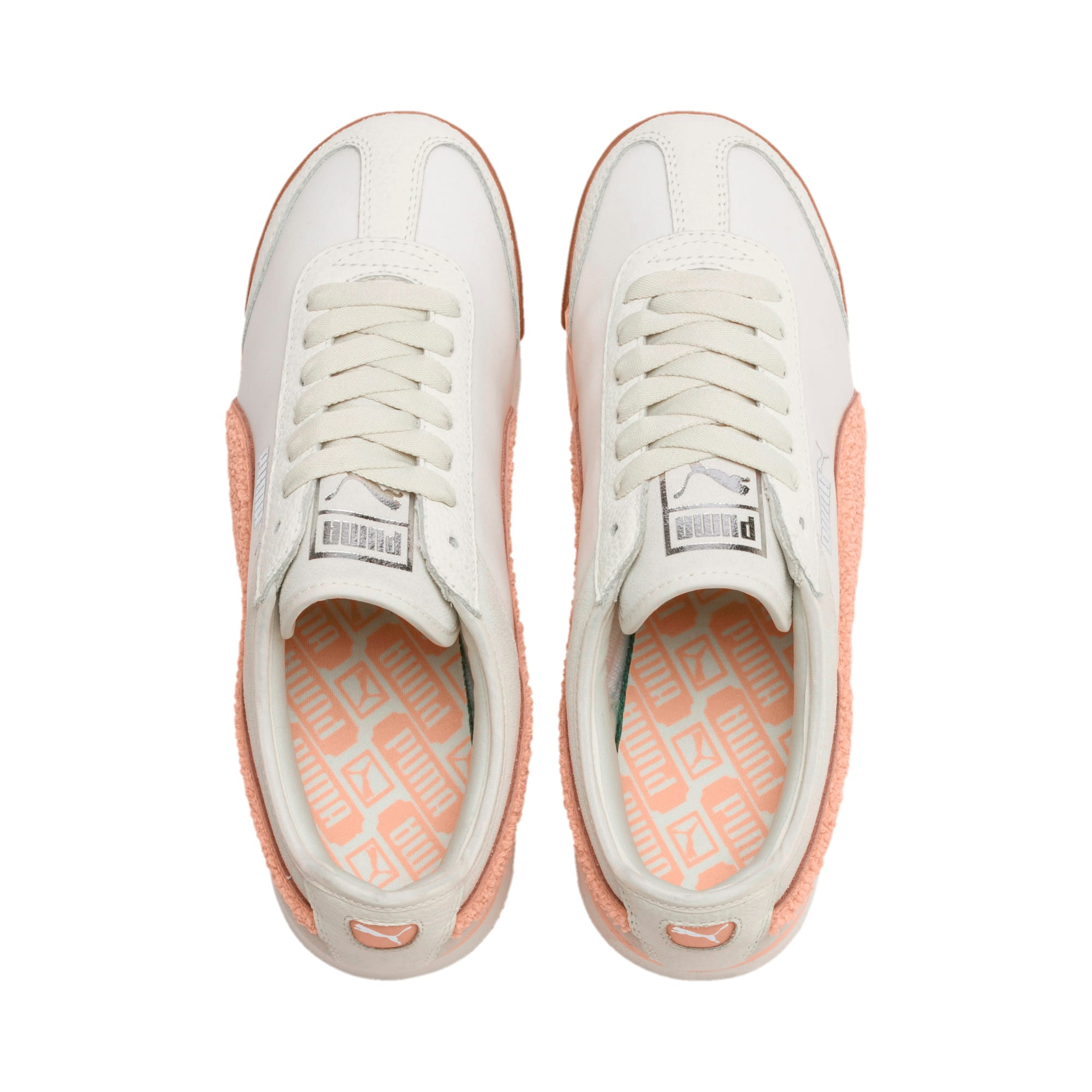Thumbnail 8 of Roma Amor Heritage Women's Trainers, Marshmallow-Peach Parfait, medium