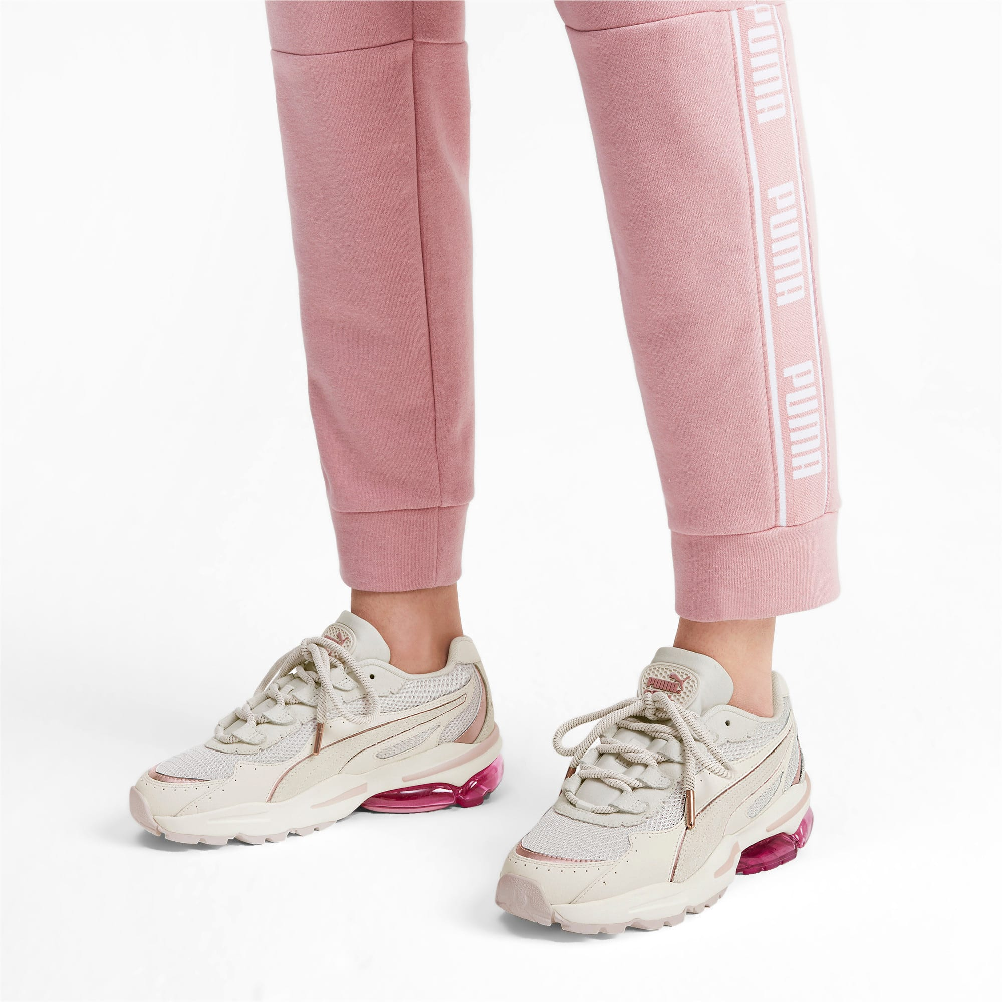 Thumbnail 2 of CELL Stellar Soft Women's Sneakers, Pastel Parchment-Rose Gold, medium