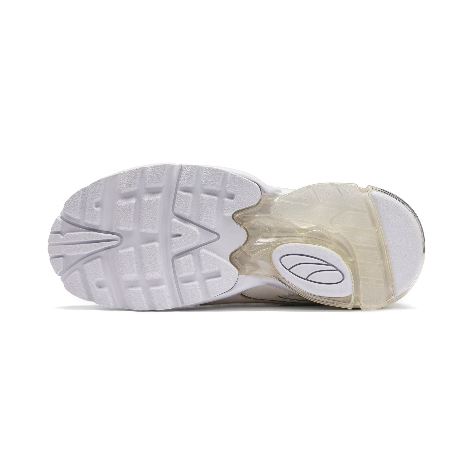Thumbnail 5 of CELL Stellar Soft sportschoenen voor dames, Puma White-Puma Team Gold, medium