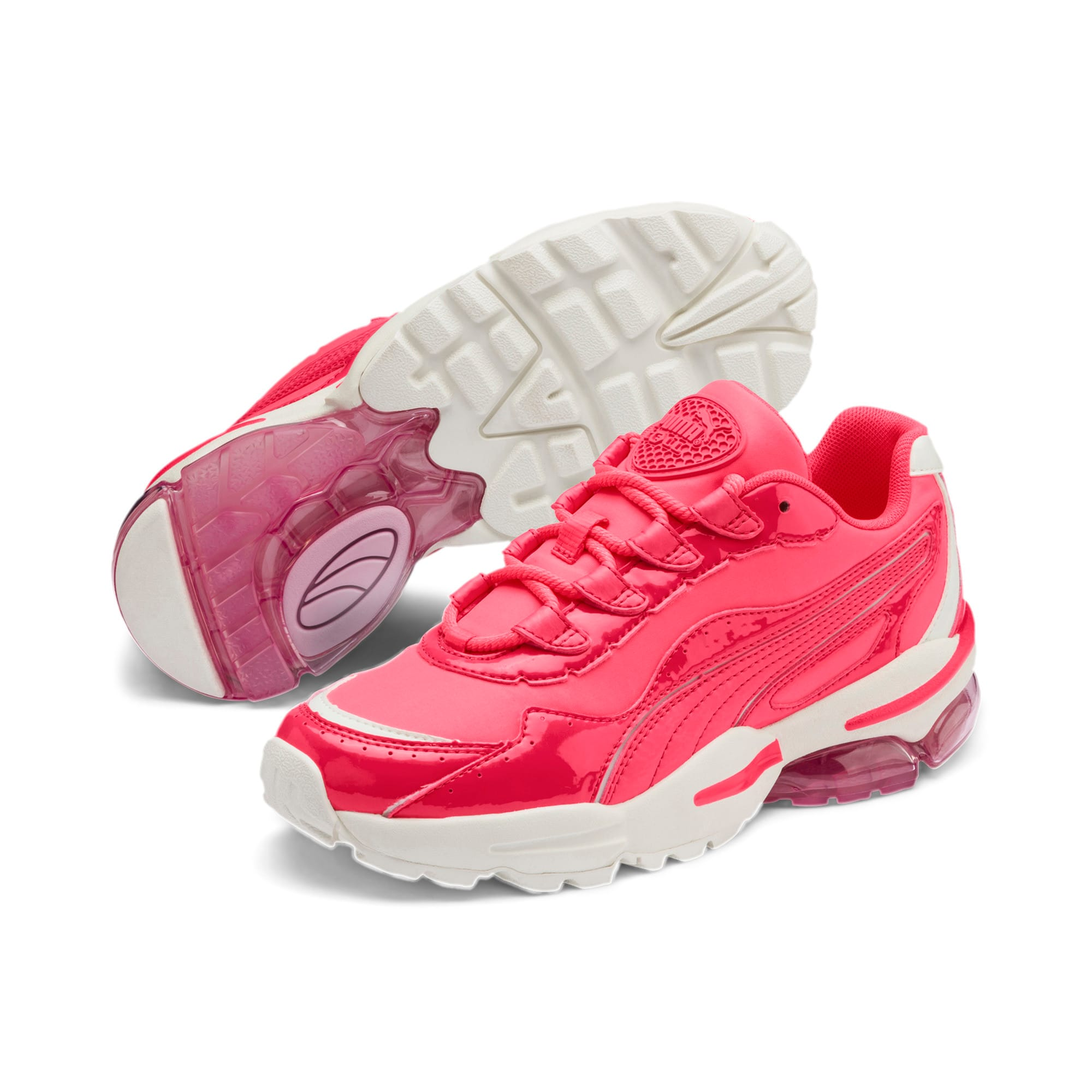 Thumbnail 3 of CELL Stellar Neon Women's Trainers, Pink Alert-Heather, medium