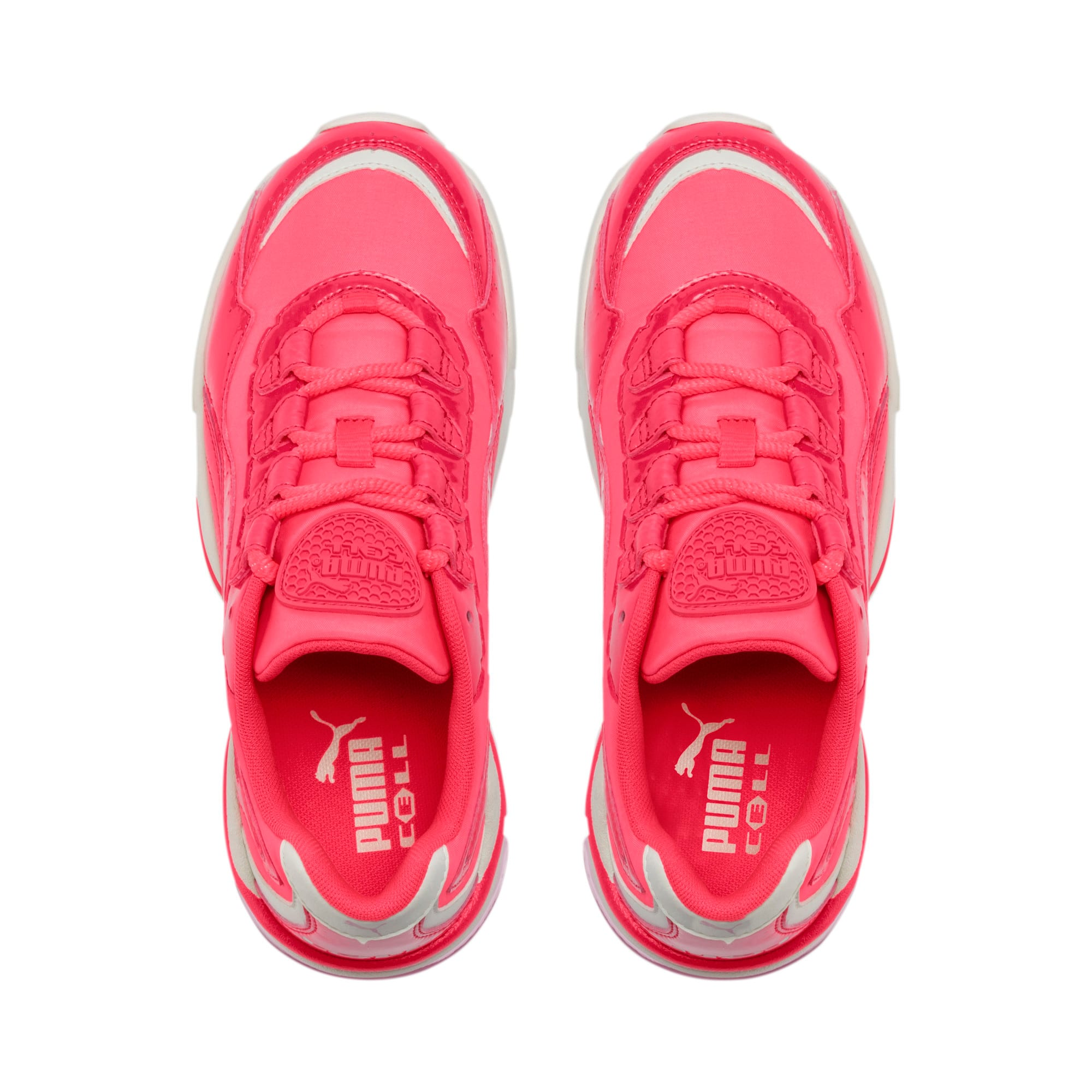 Thumbnail 7 of CELL Stellar Neon Women's Sneakers, Pink Alert-Heather, medium